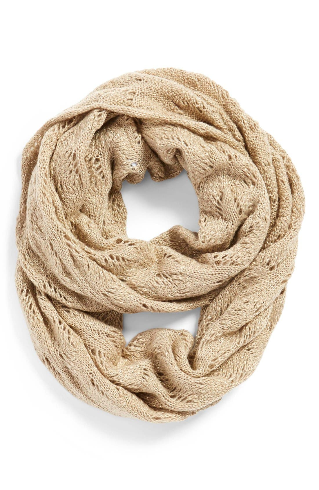 Alternate Image 1 Selected - Echo Pointelle Infinity Scarf