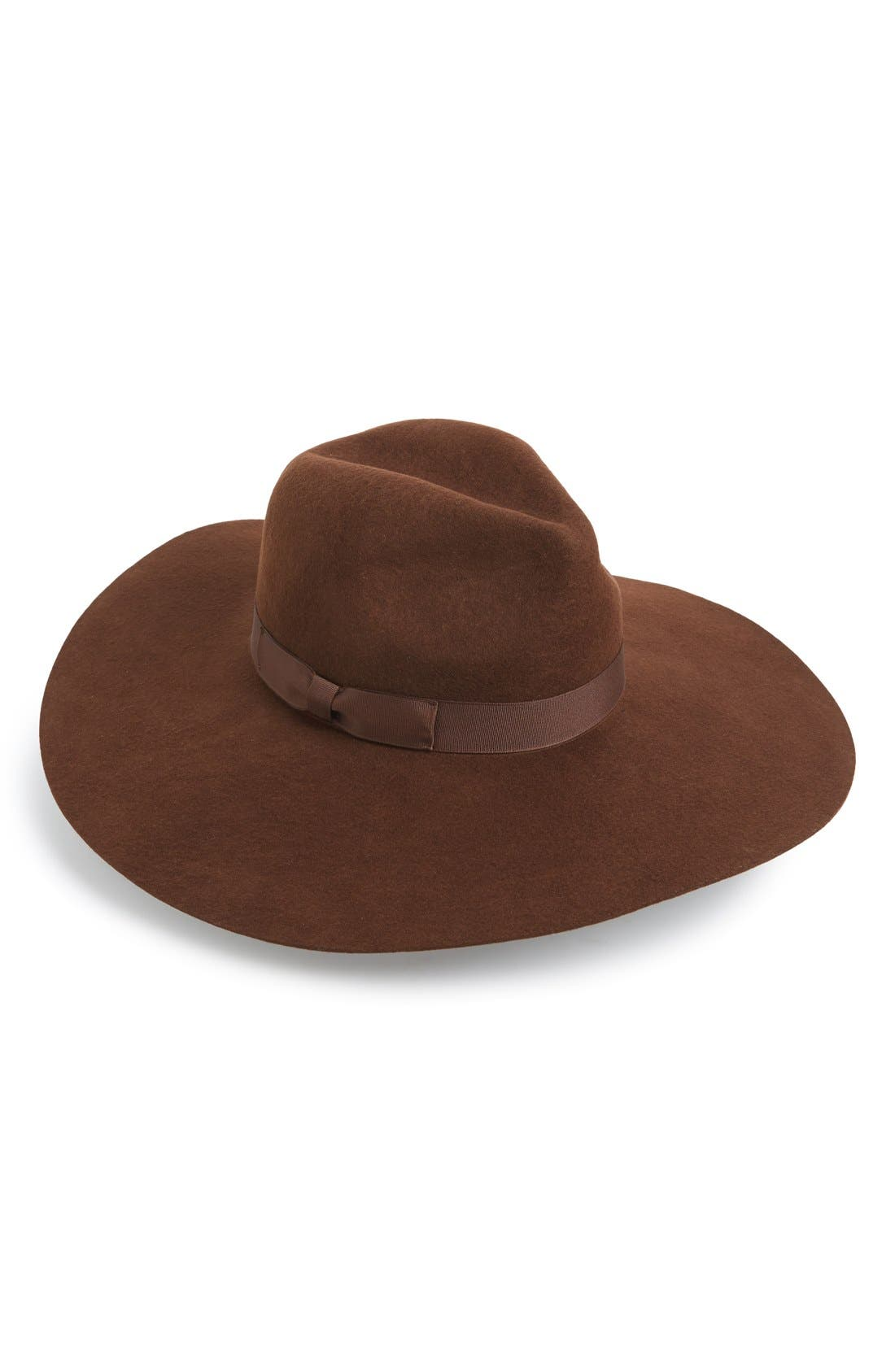 Alternate Image 1 Selected - Lack of Color 'Montana Coco' Floppy Felt Hat