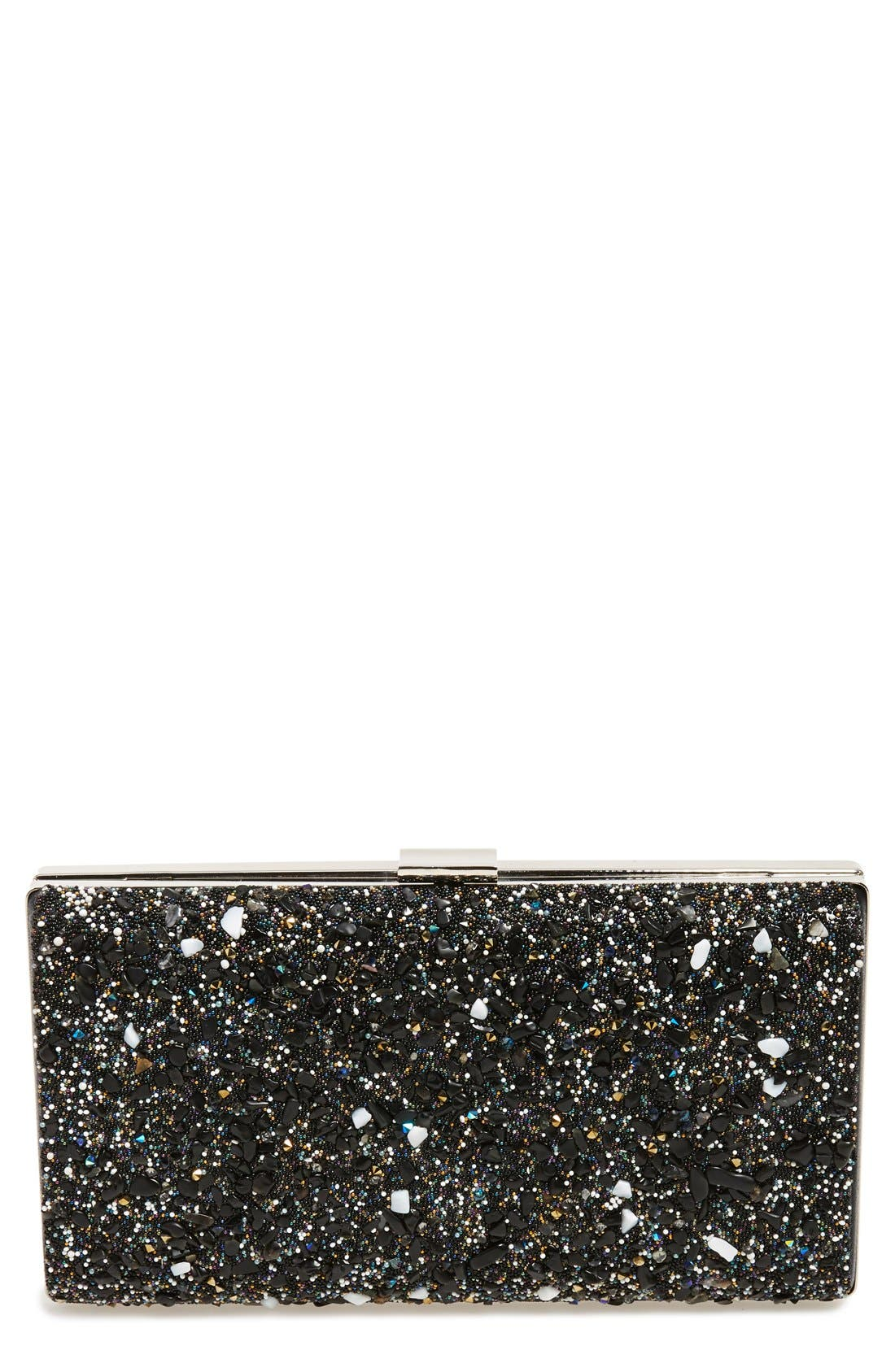 Alternate Image 1 Selected - Natasha Couture 'Starry Night' Box Clutch