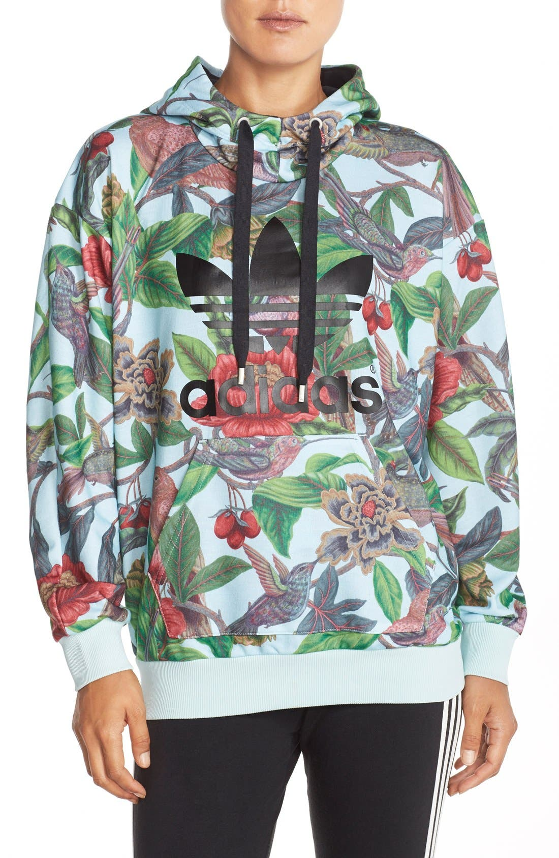 Alternate Image 1 Selected - adidas Originals 'Florera - Battle of the Birds' Hoodie