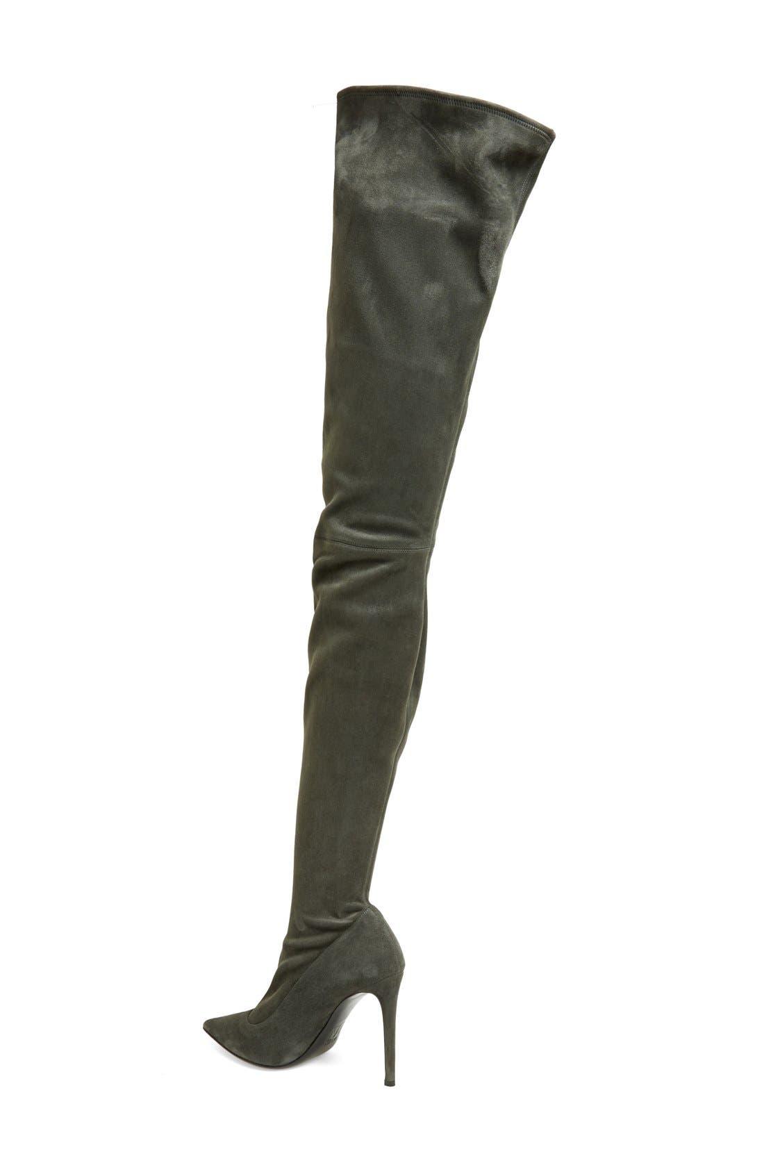 Alternate Image 2  - Tamara Mellon 'Trouble' Stretch Thigh High Boot (Women)
