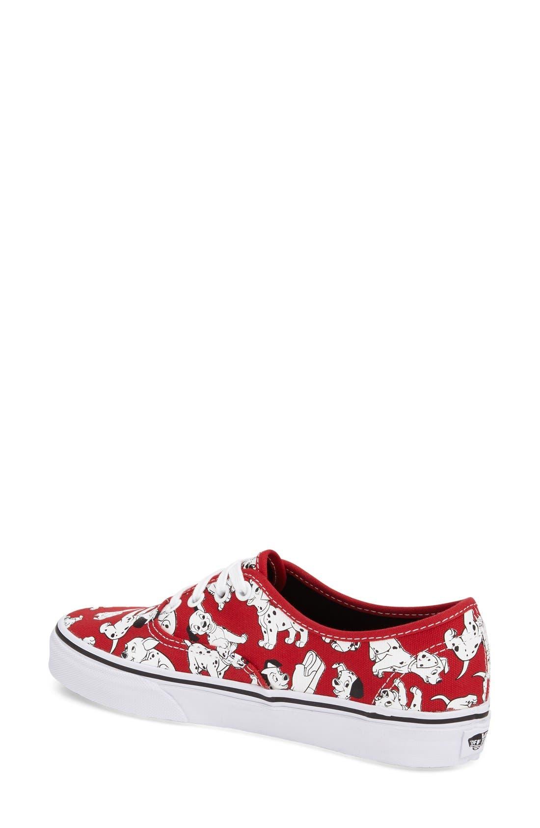 Alternate Image 2  - Vans 'Authentic - Disney® 101 Dalmatians®' Sneaker (Women)