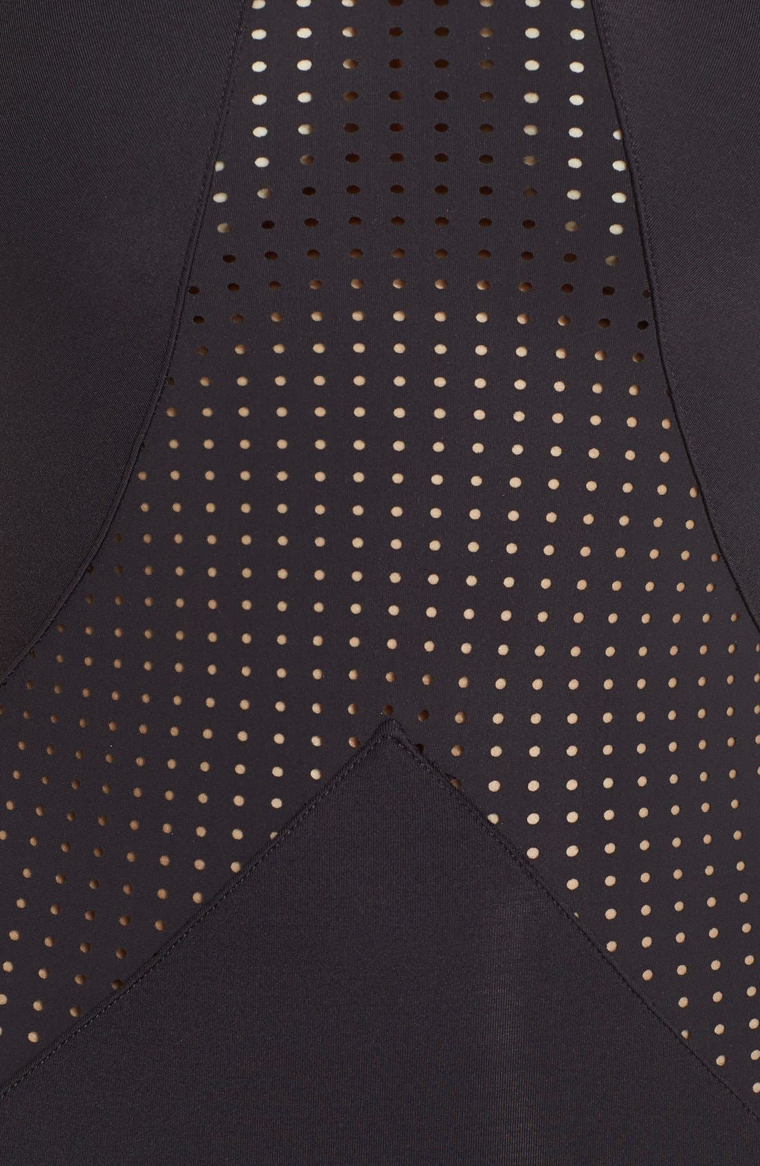 Alternate Image 5  - Vitamin A® 'Rayna' Perforated One-Piece Swimsuit