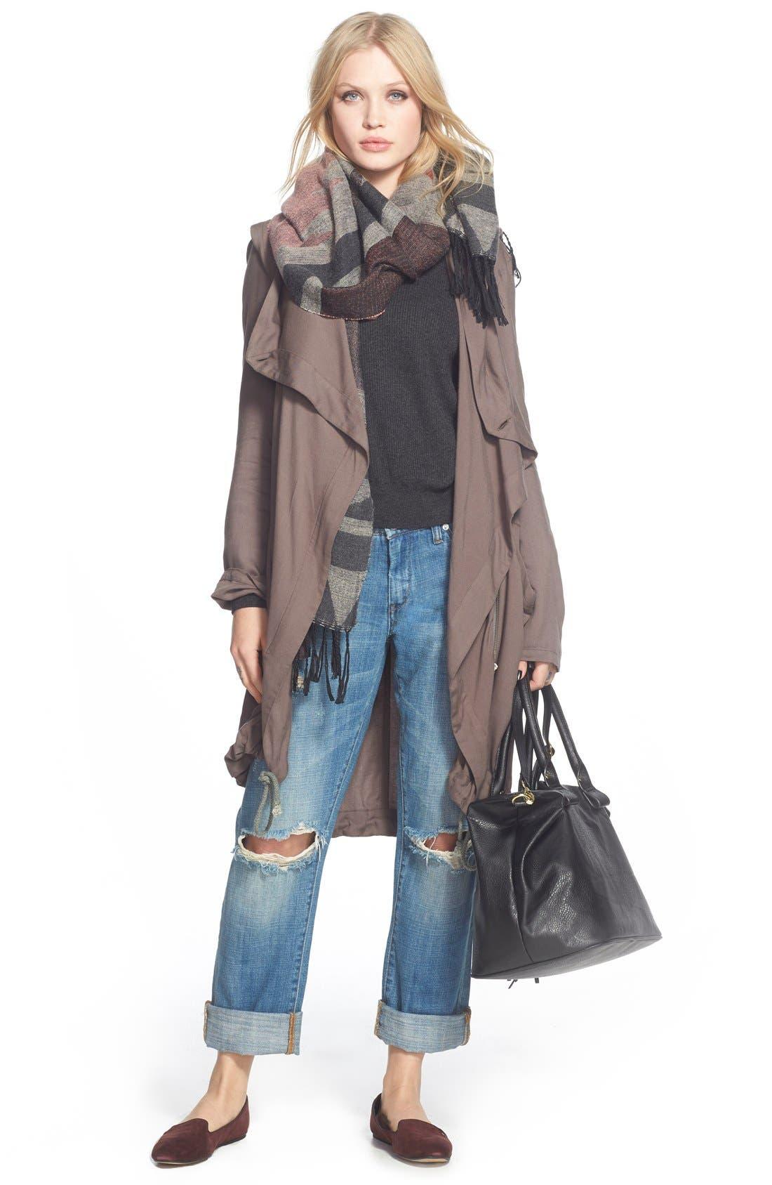 Alternate Image 7  - BP. Faux Leather Satchel