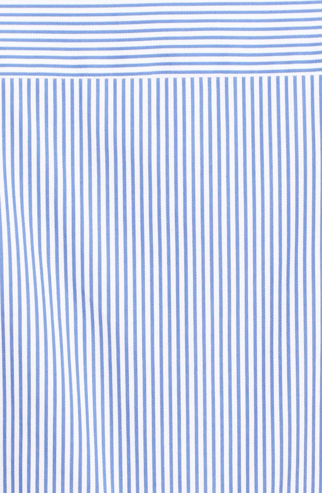Alternate Image 5  - kate spade new york stripe peplum shirt