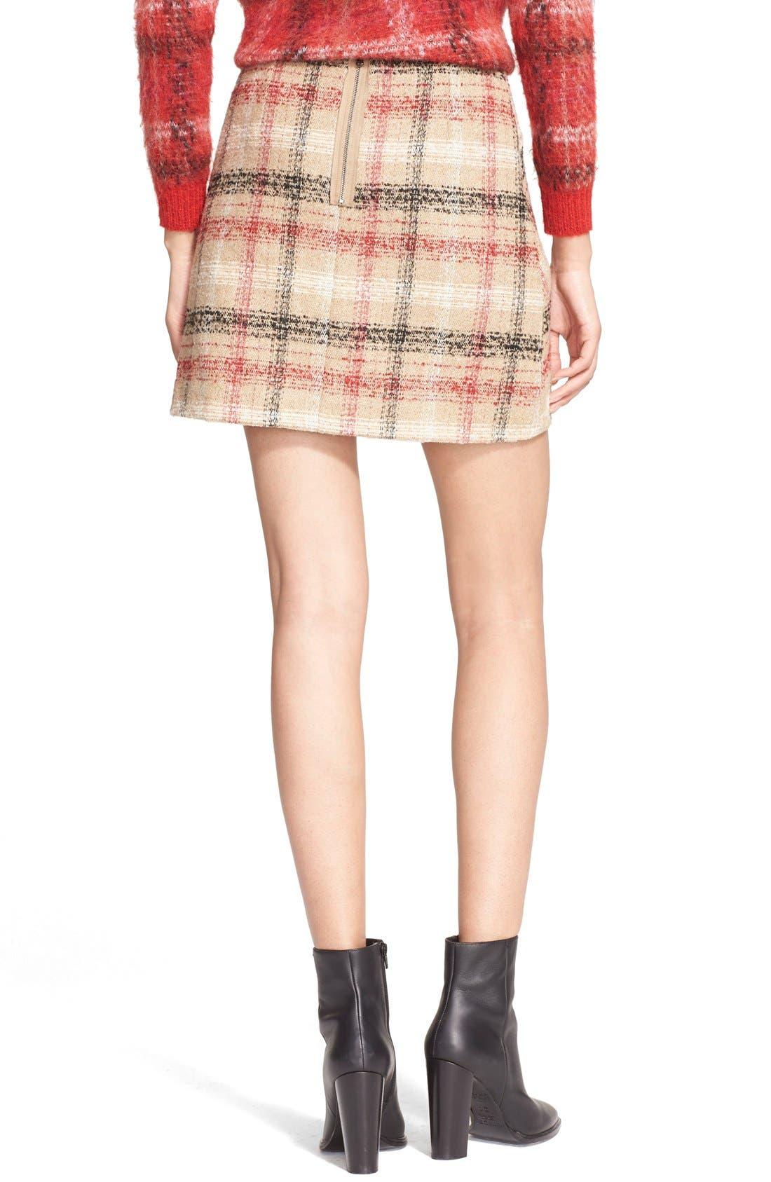 Alternate Image 2  - Carven Plaid Skirt