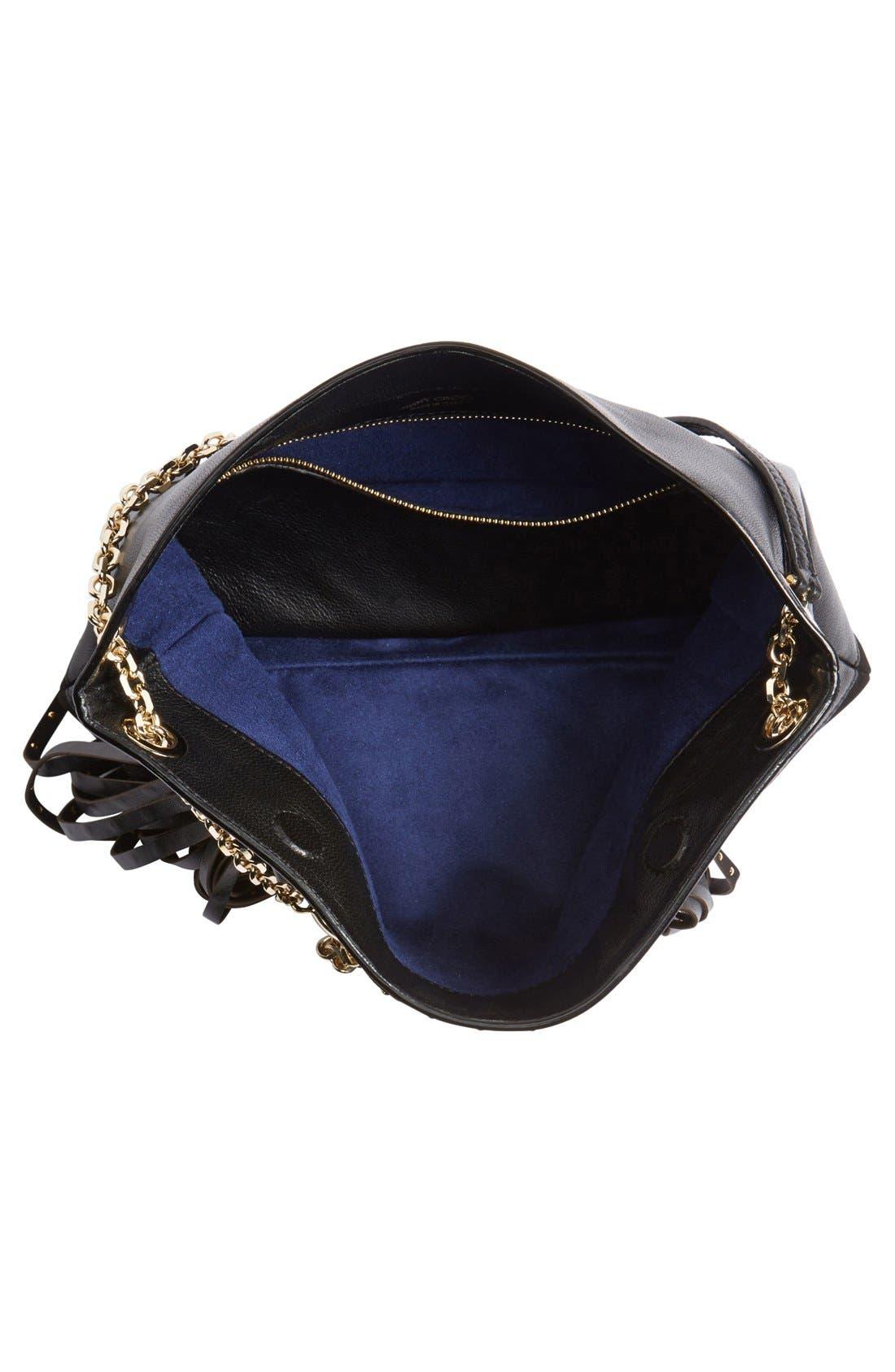 Alternate Image 5  - Jimmy Choo 'Alexia' Fringe Crossbody Bag