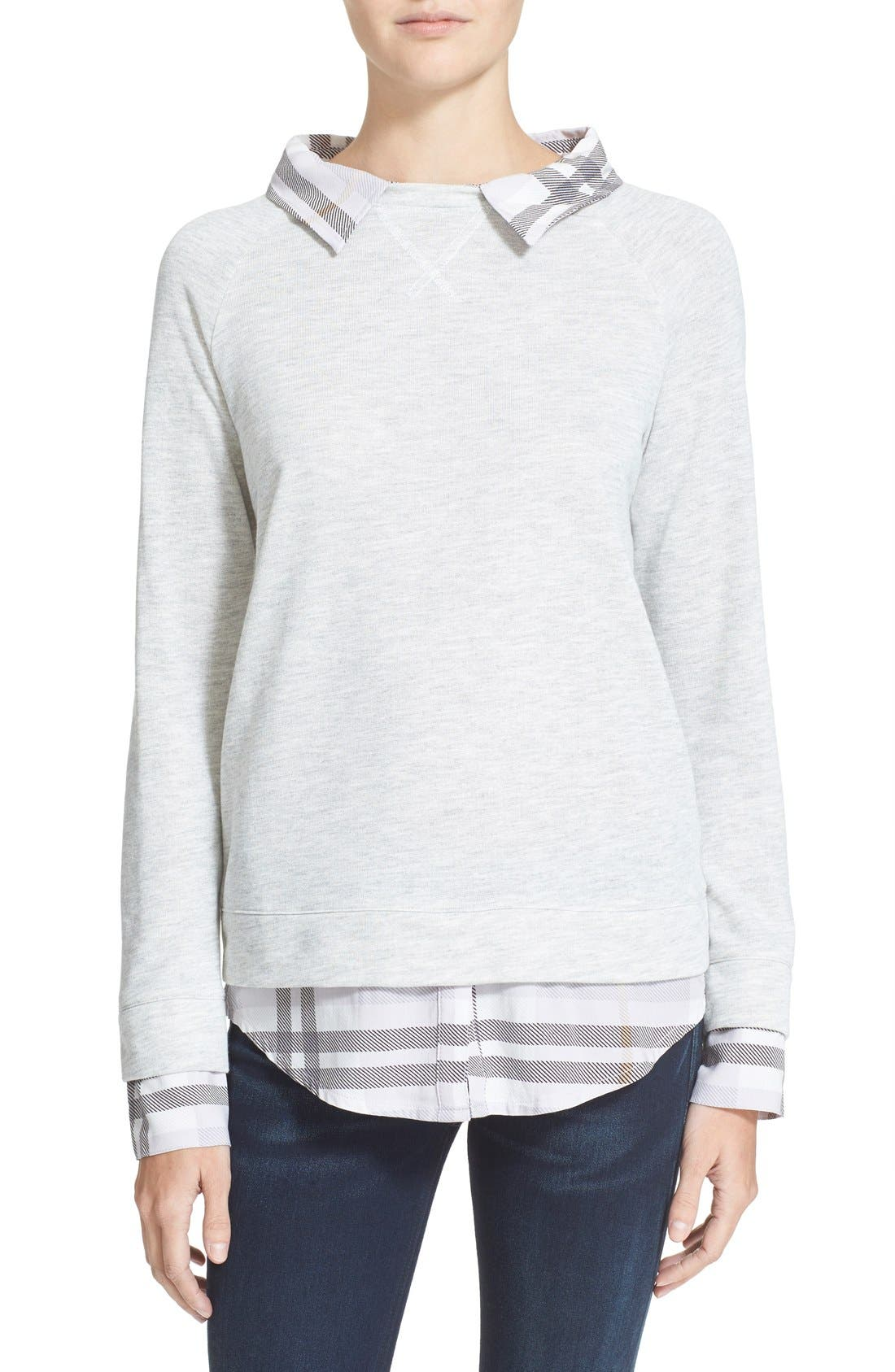 Alternate Image 1 Selected - Soft Joie 'Diadem' Layered Pullover