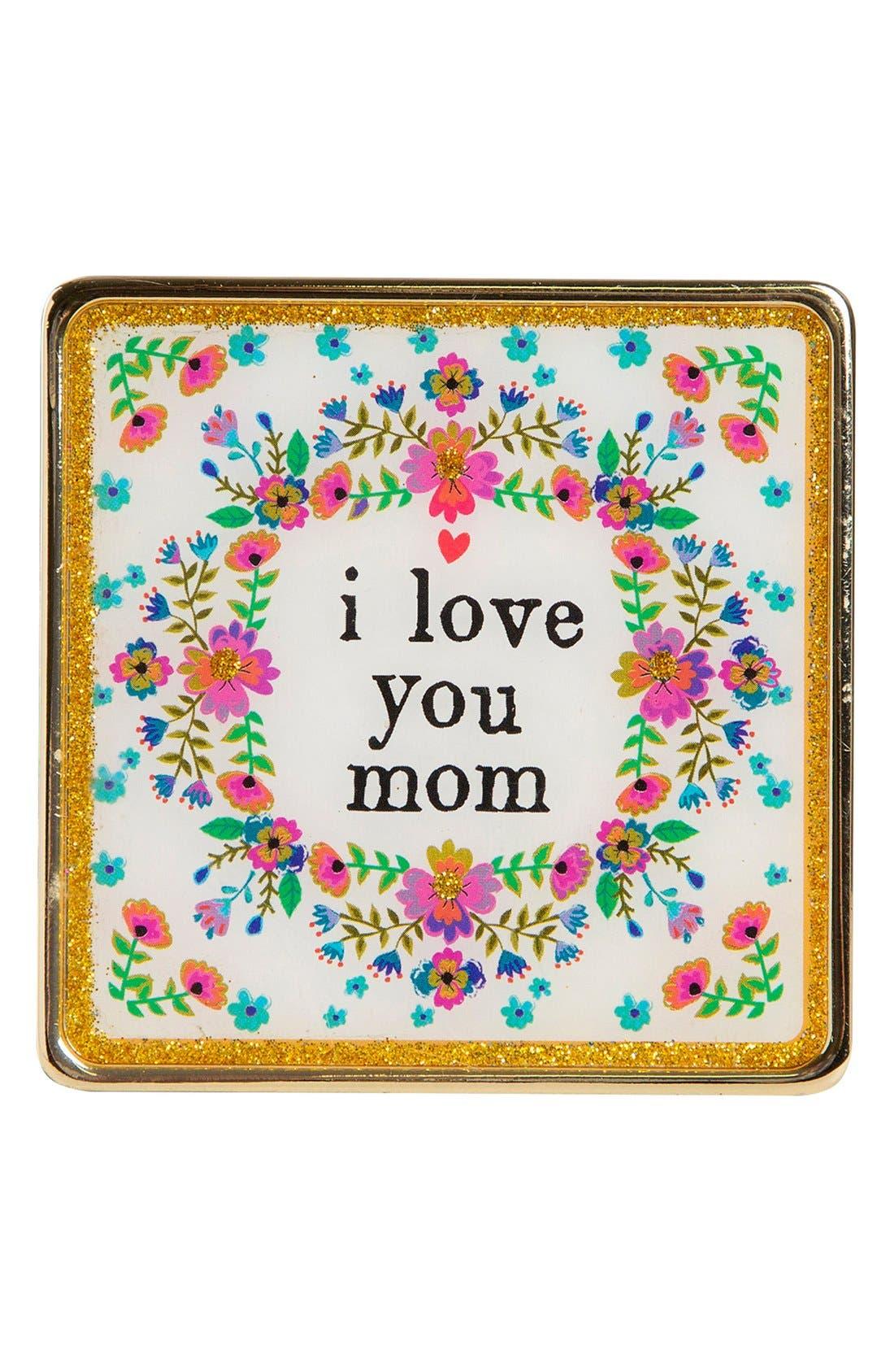 Main Image - Natural Life 'I Love You Mom' Framed Art