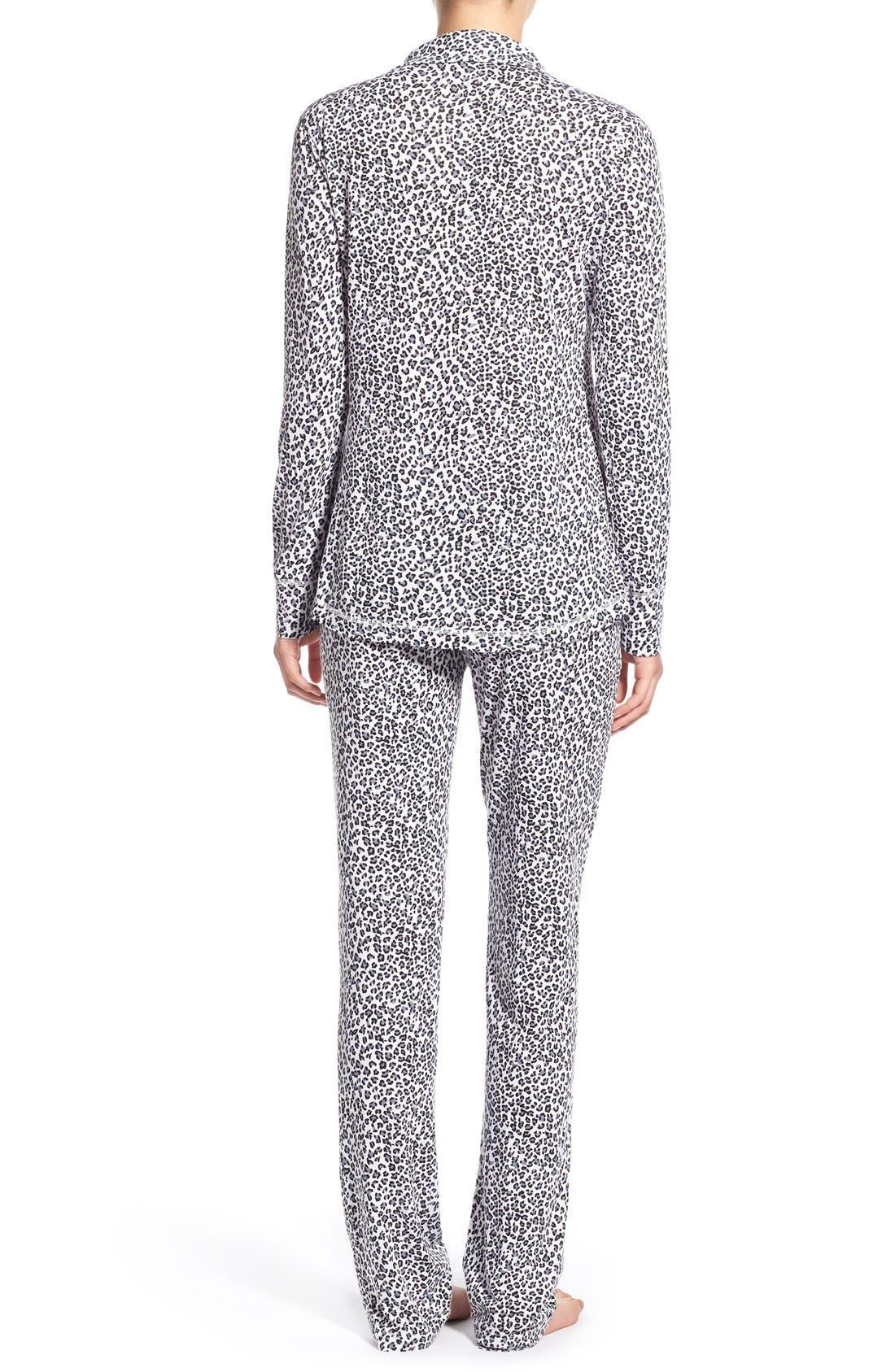 Alternate Image 2  - Love+Grace 'Cassie' Print Pajamas
