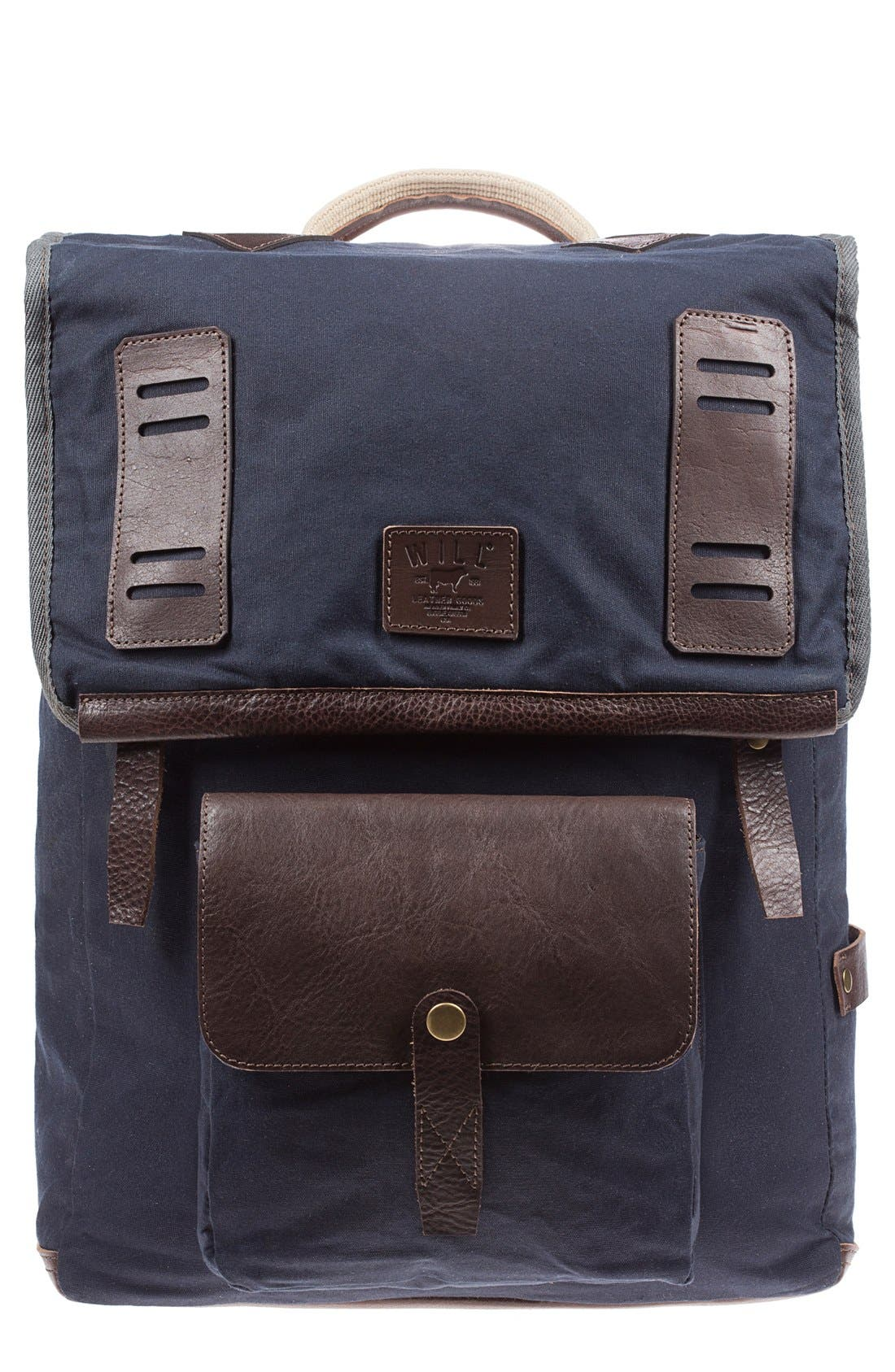 Will Leather Goods 'Mt. Hood' Backpack