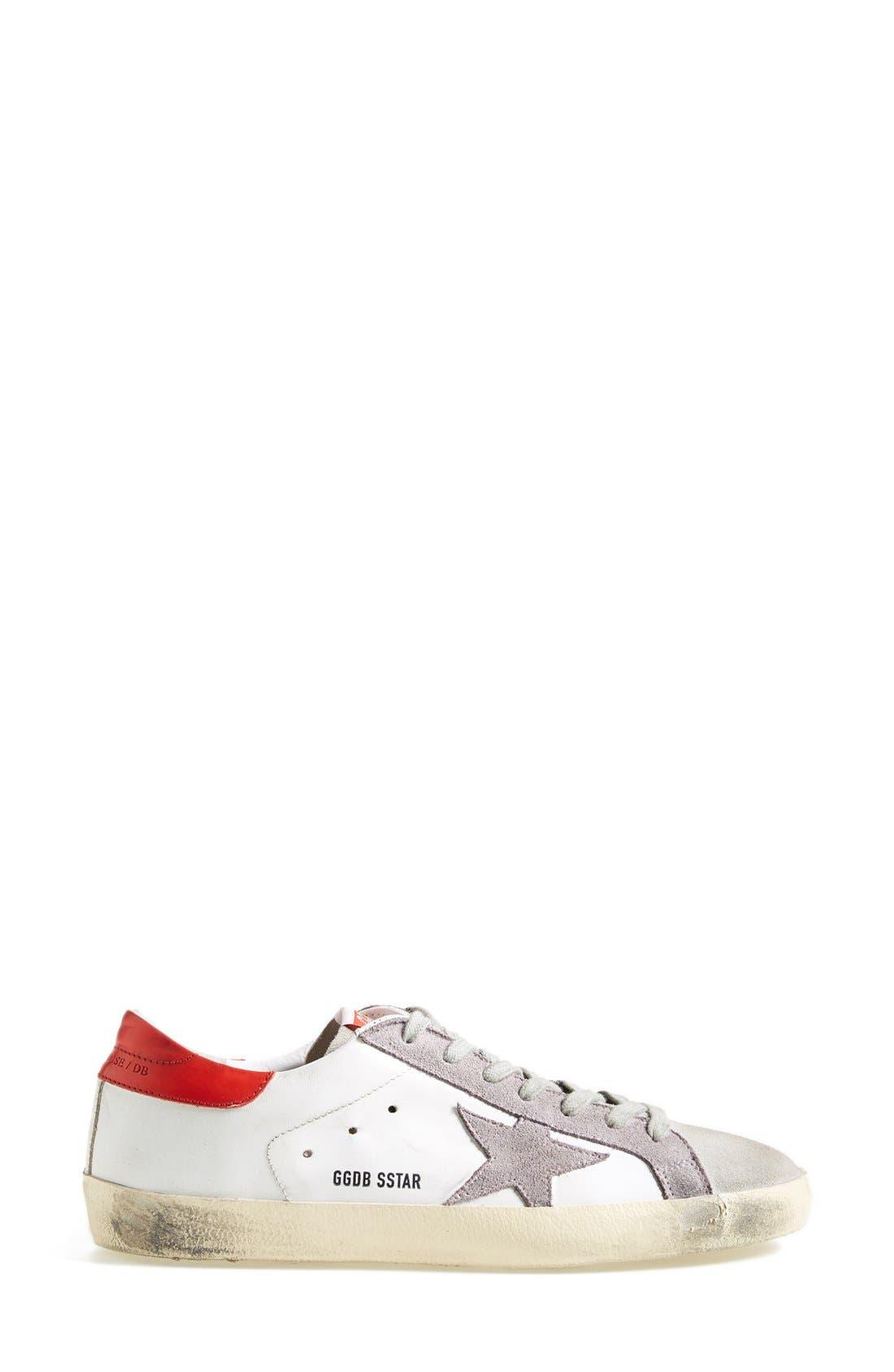 Alternate Image 4  - Golden Goose 'Super Star' Sneaker (Women)