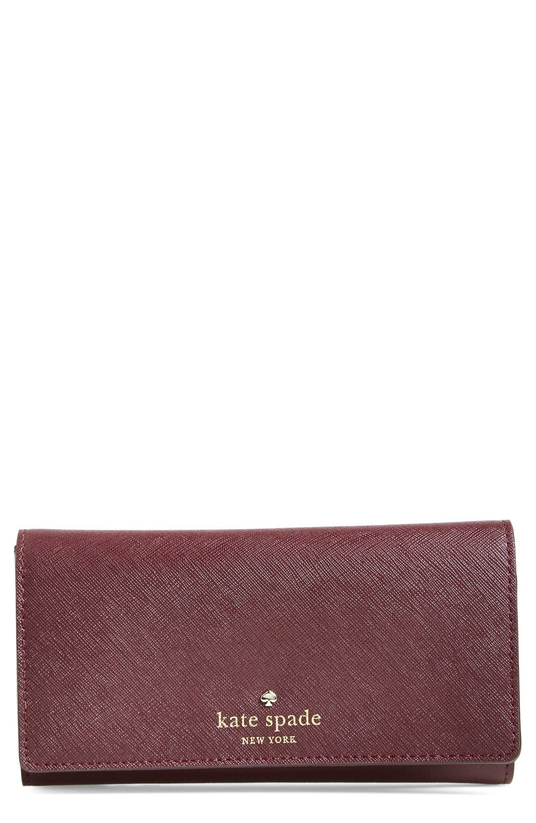Main Image - kate spade new york 'cedar street - nika' leather wallet
