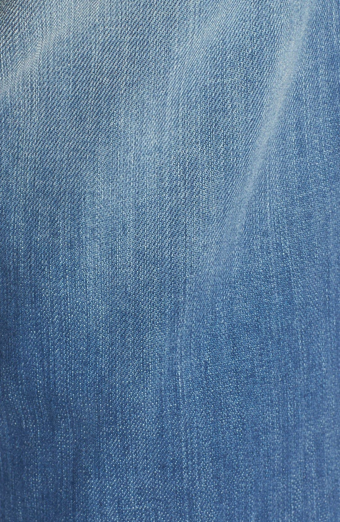 Alternate Image 5  - KUT from the Kloth 'Catherine' Distressed Stretch Boyfriend Jeans (Smile)