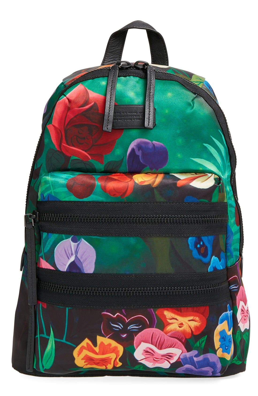 Main Image - MARC BY MARC JACOBS x Disney® 'Alice in Wonderland - Domo Arigato Packrat' Backpack