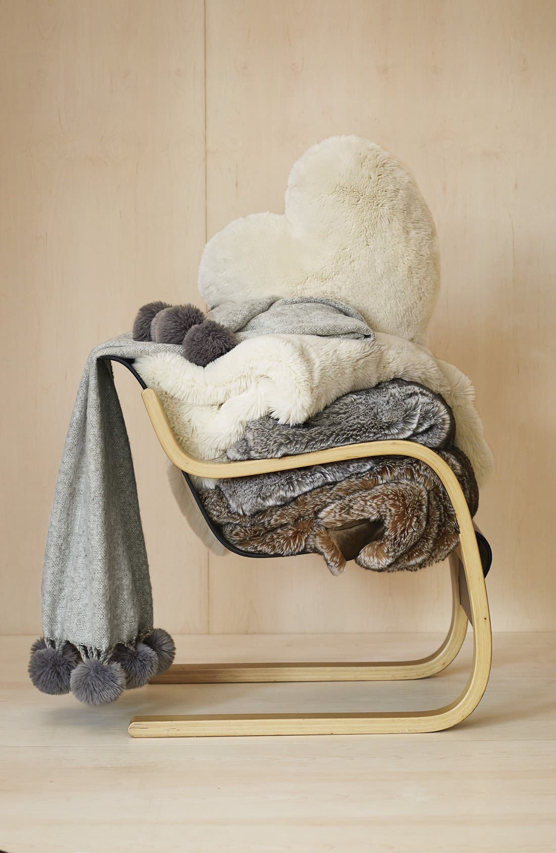 Alternate Image 3  - Nordstrom at Home Faux Fur Throw