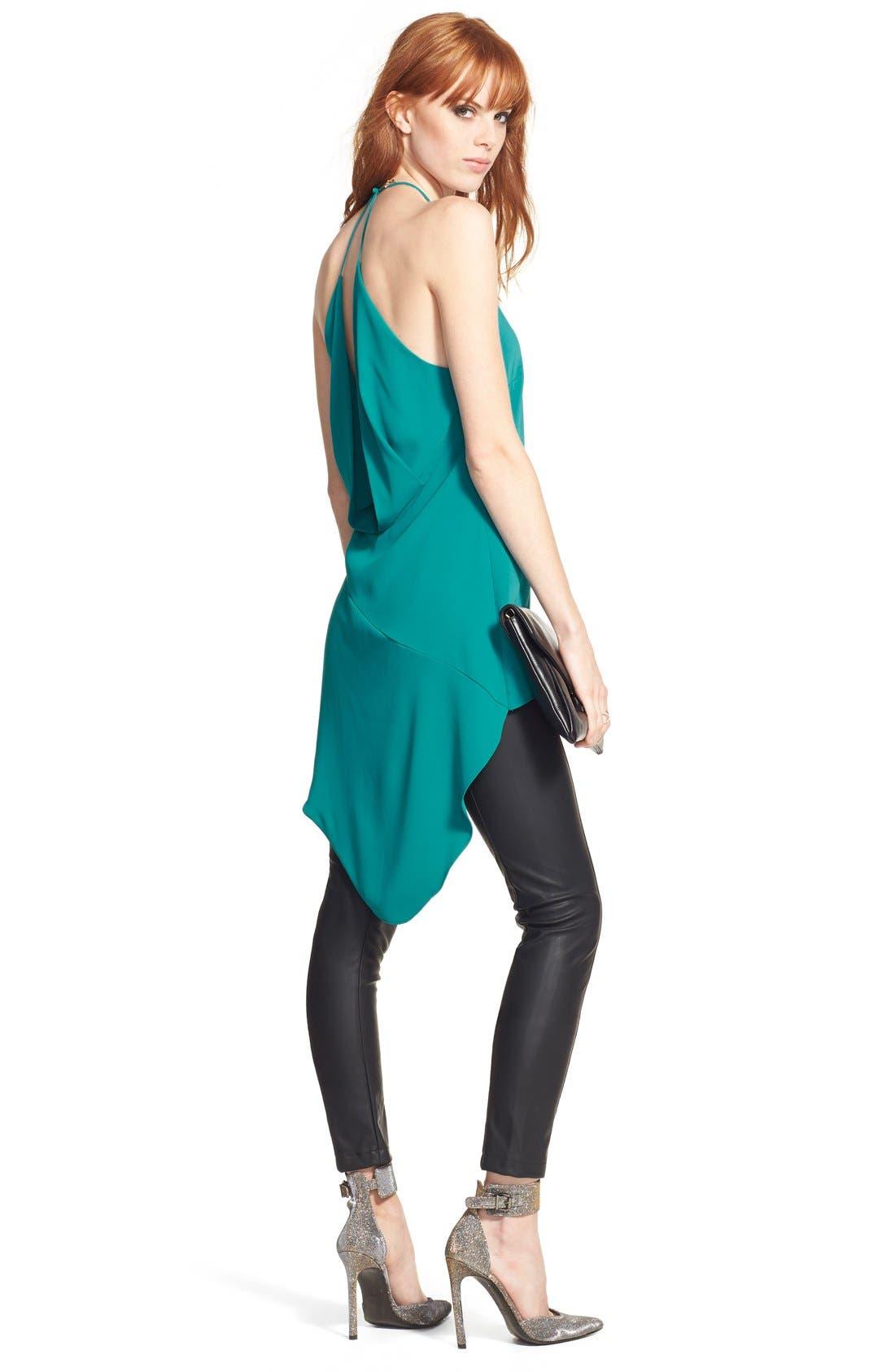 Alternate Image 2  - Glamorous Faux Leather Leggings