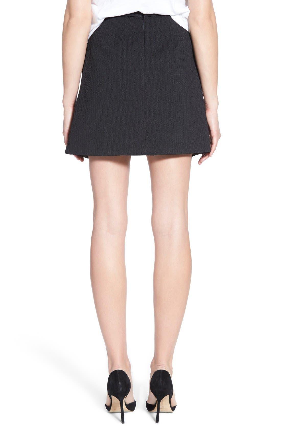 Alternate Image 3  - Madewell Jacquard Pleat Skirt