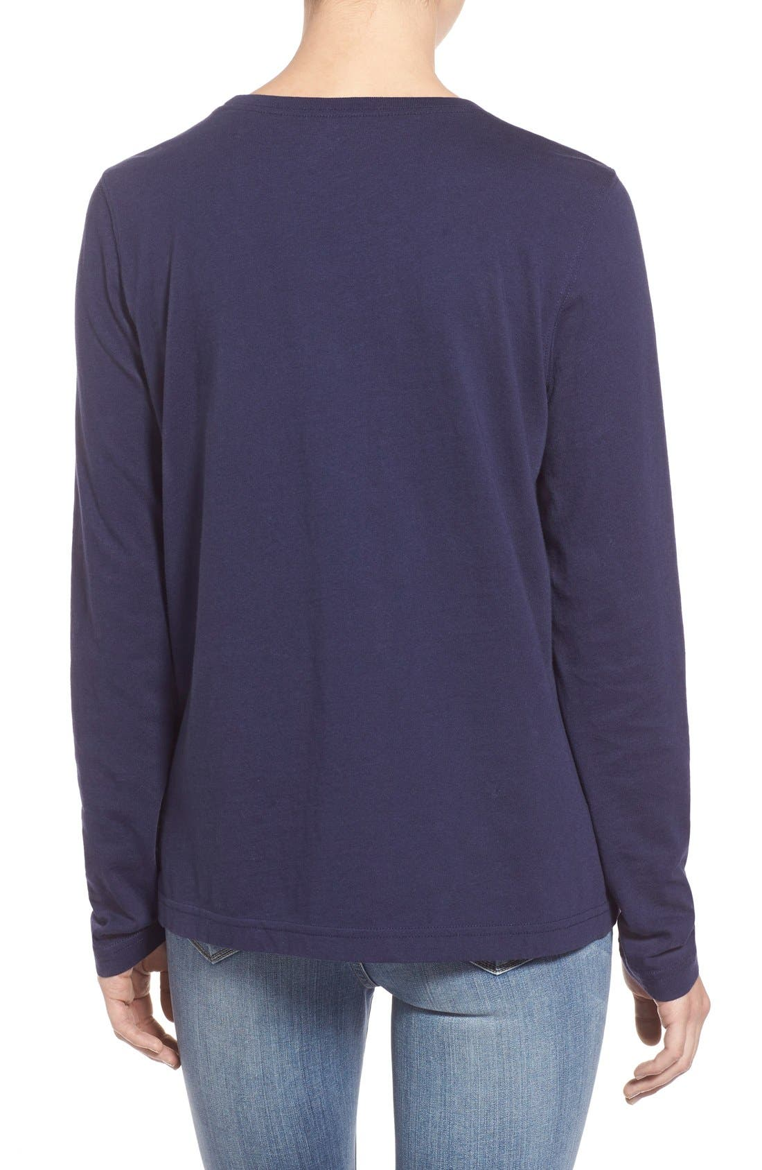 Alternate Image 3  - Vineyard Vines 'Collegiate' Long Sleeve Tee