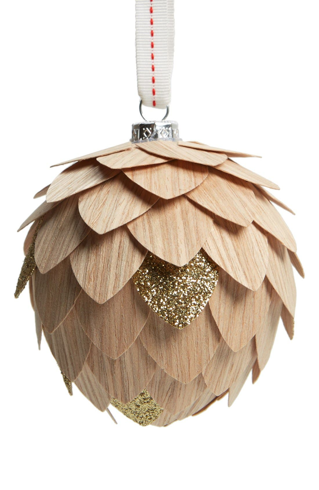 Alternate Image 1 Selected - Nordstrom at Home Pinecone Ornament