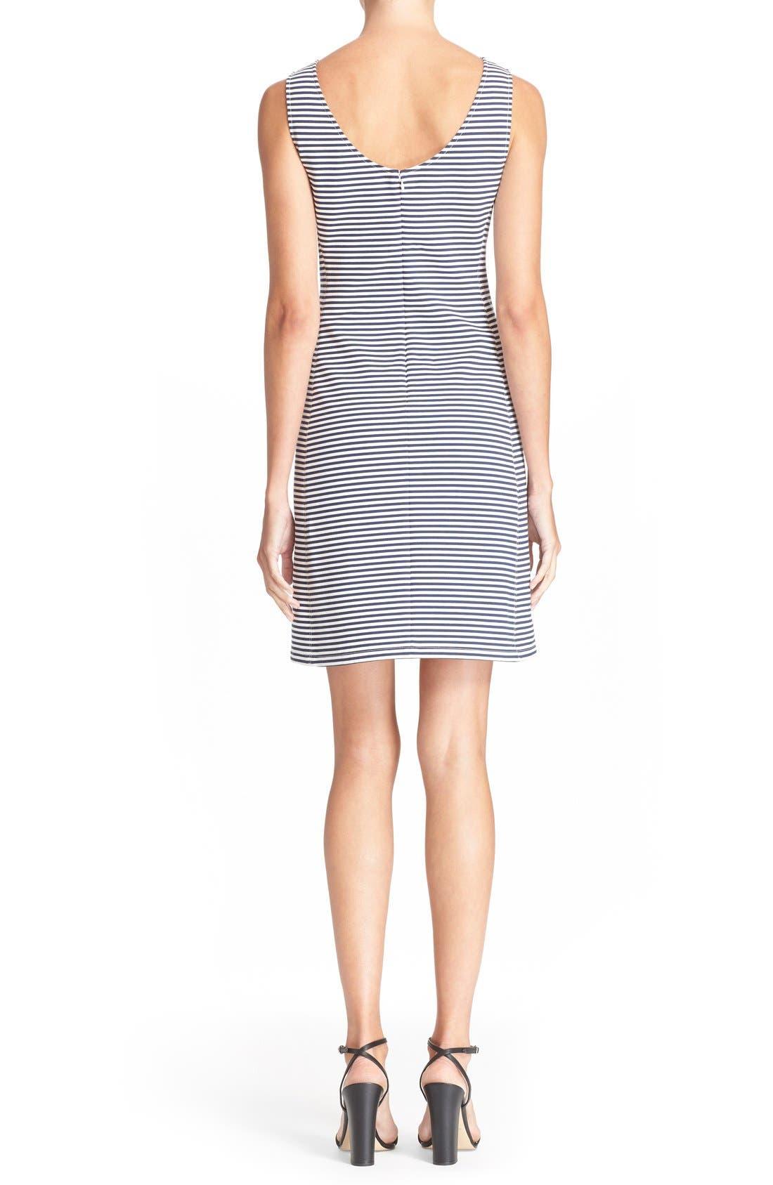 Alternate Image 2  - Theory 'Mivrill' Stripe Sheath Dress