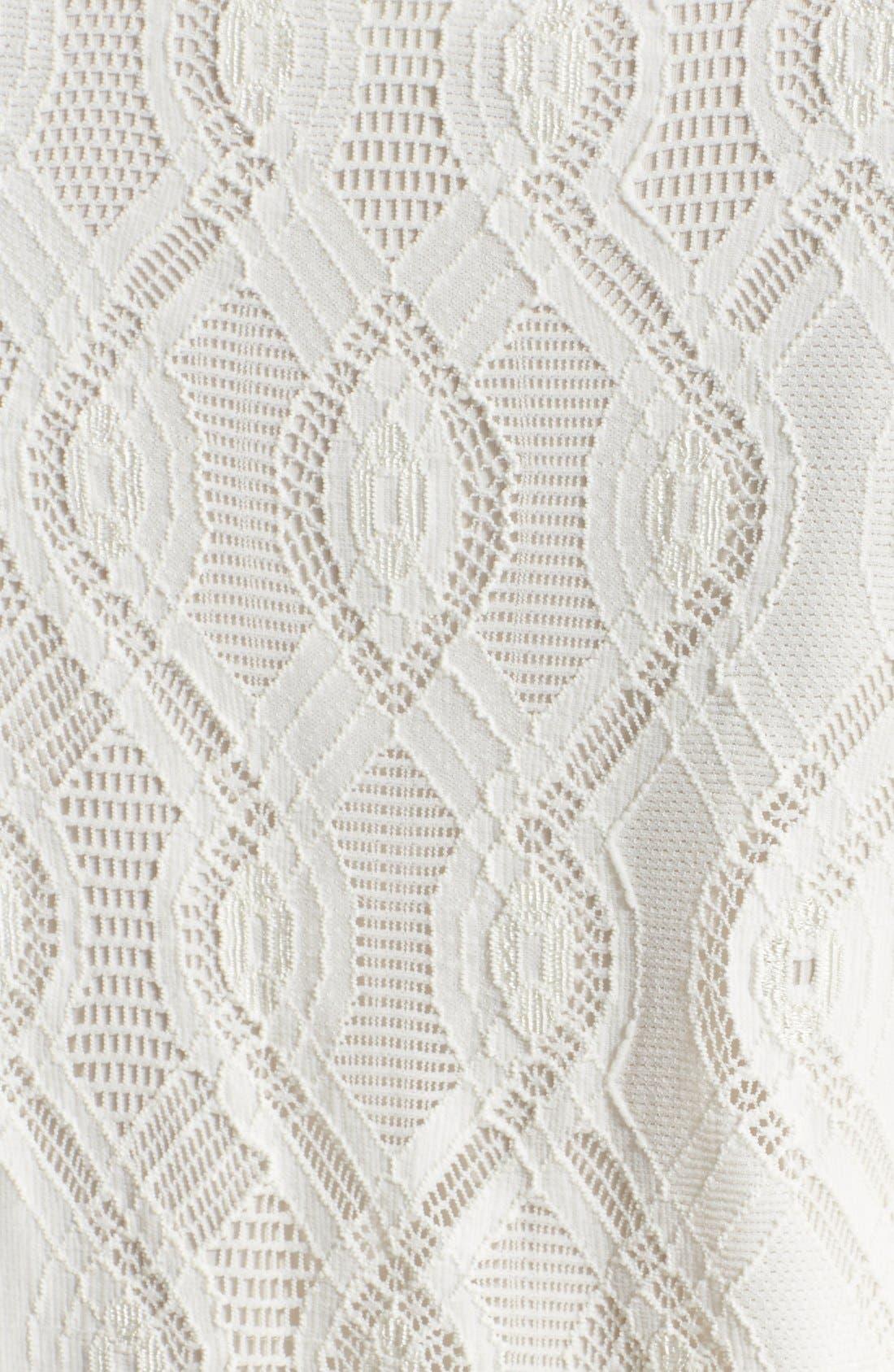 Alternate Image 3  - Fuzzi Lace Shift Dress