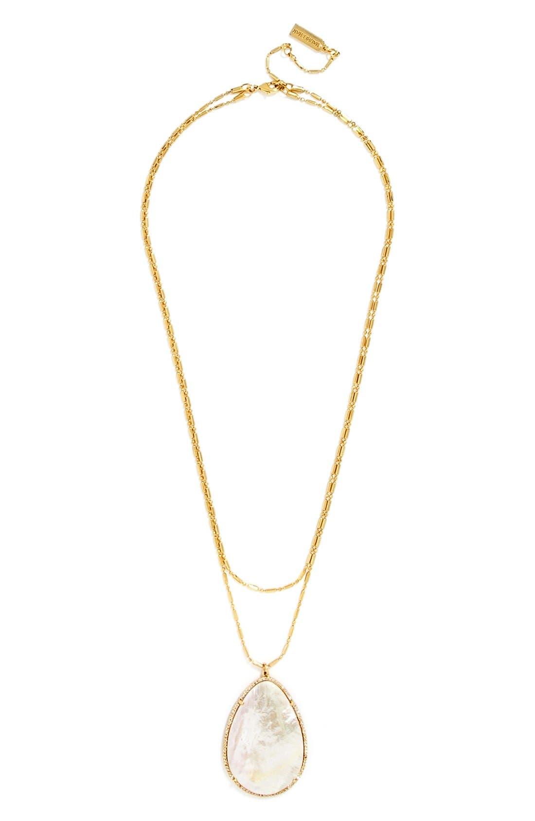 Alternate Image 1 Selected - BaubleBar 'Seashell' Pendant Necklace