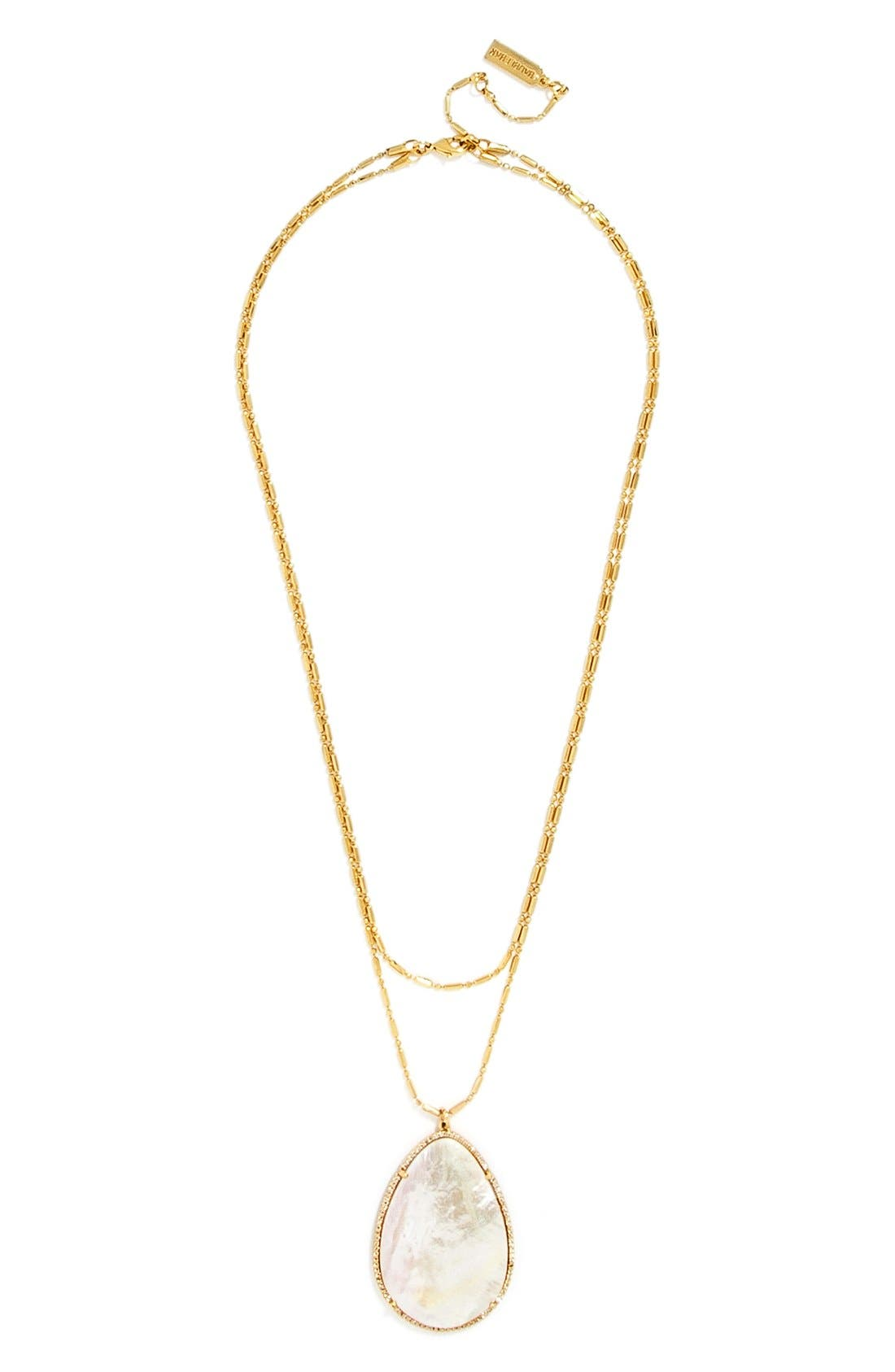 Main Image - BaubleBar 'Seashell' Pendant Necklace