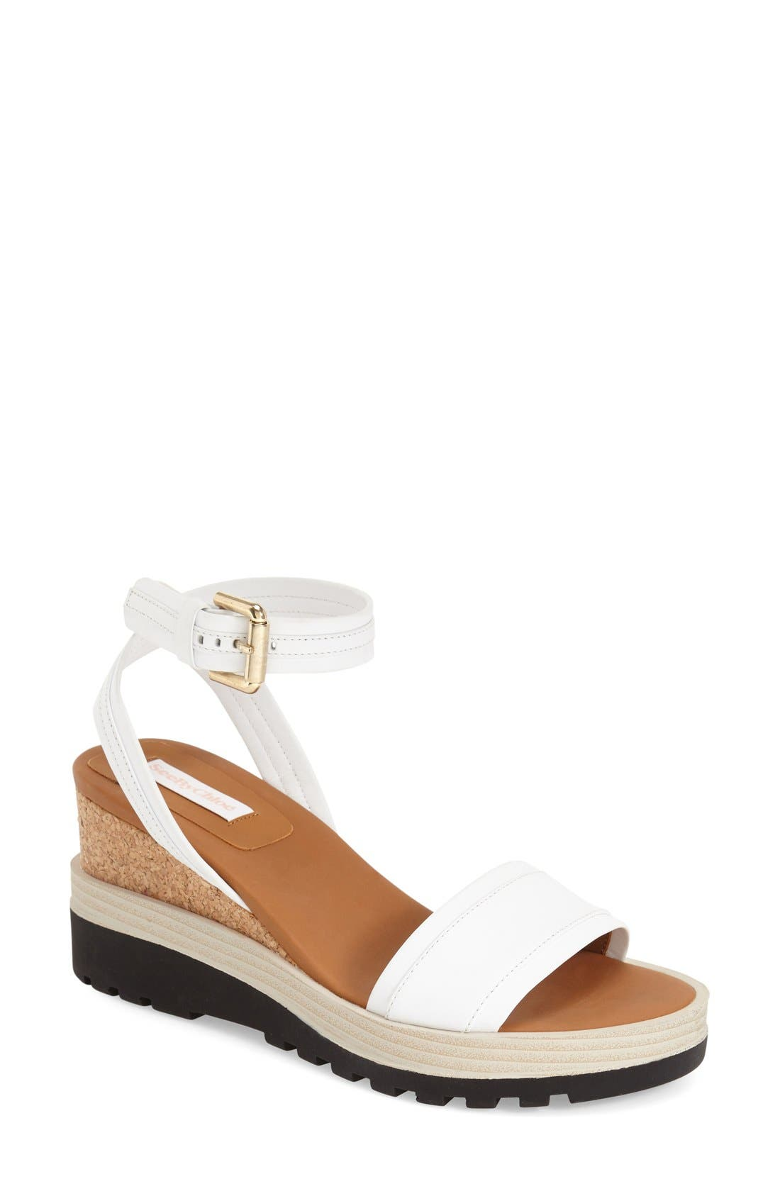 SEE BY CHLOÉ 'Robin' Wedge Sandal