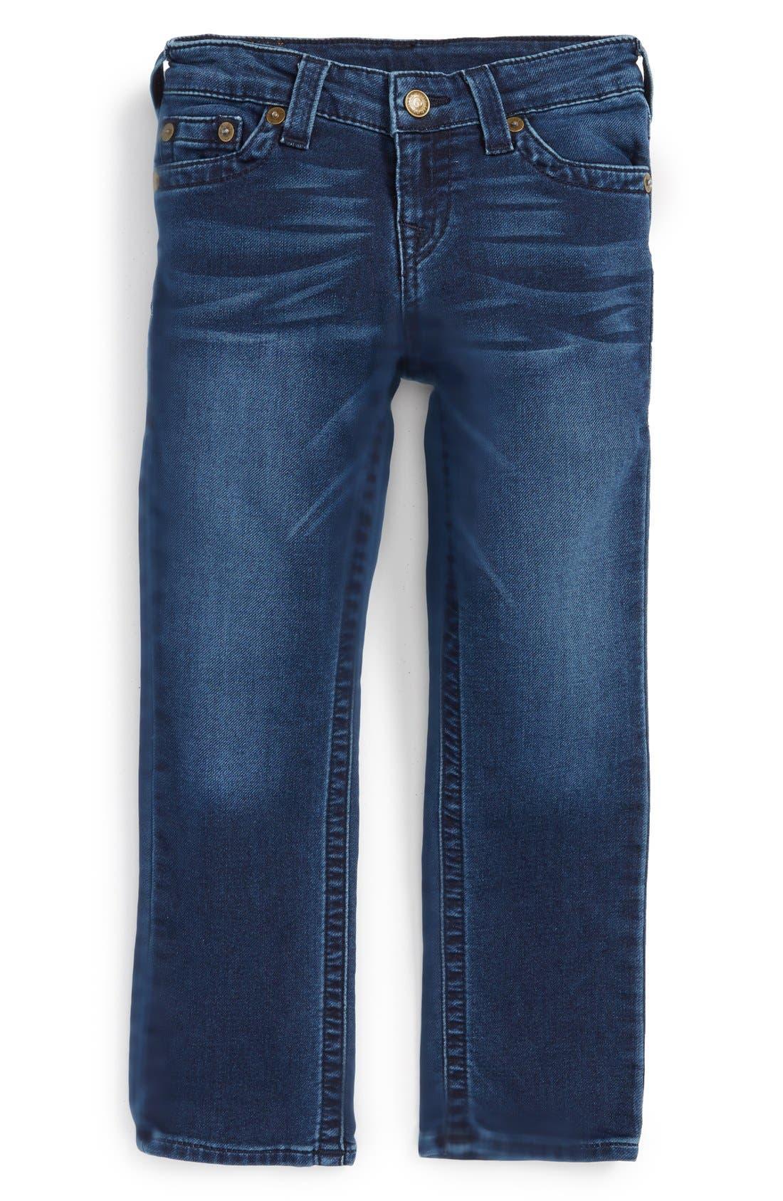 Alternate Image 1 Selected - True Religion Brand Jeans 'Knit Sweatpant' Jeans (Toddler Boys & Little Boys)