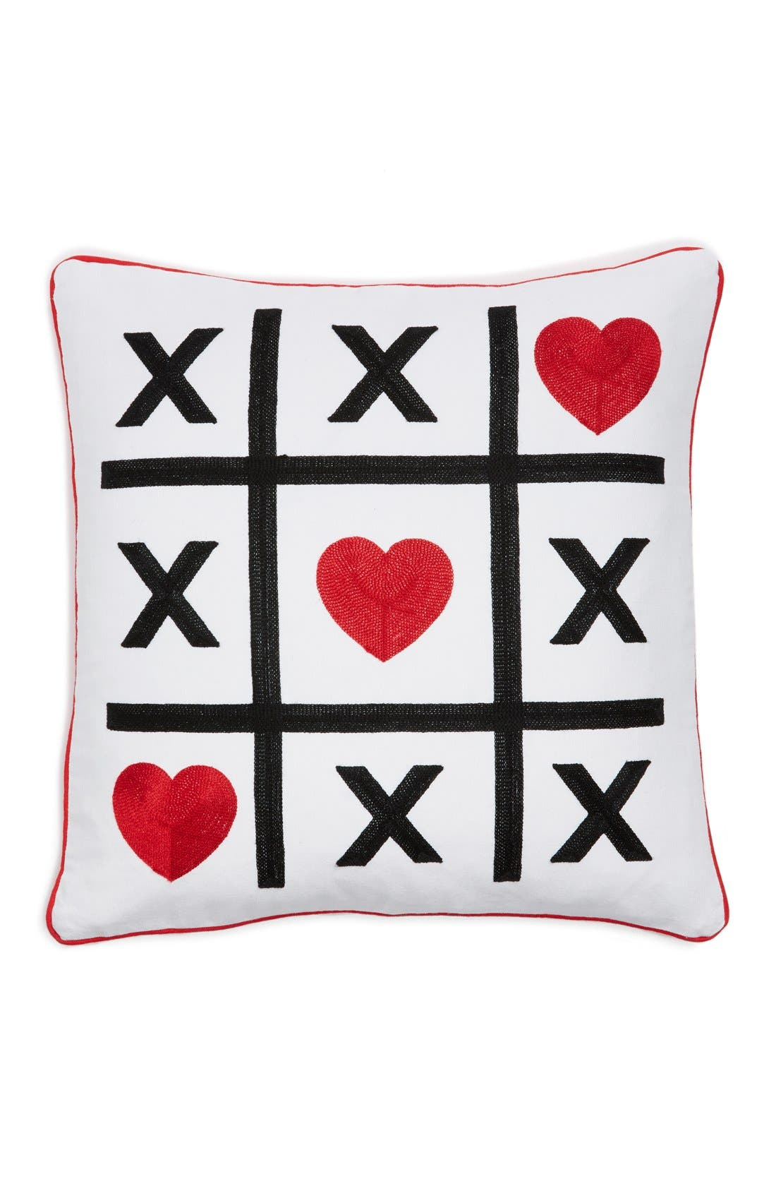 Alternate Image 1 Selected - Levtex 'Tic Tac Toe' Accent Pillow