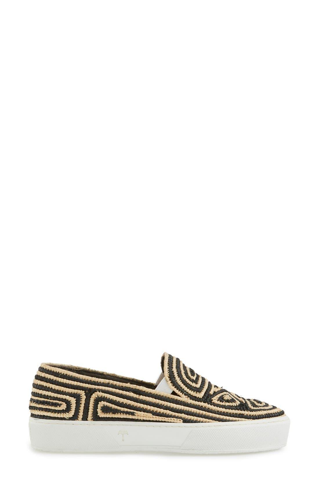 Alternate Image 4  - Robert Clergerie Woven Slip-On Sneaker (Women)