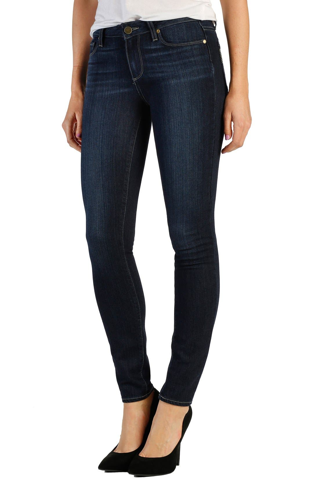 Alternate Image 1 Selected - Paige Denim 'Verdugo' Ultra Skinny Jeans (Alanis)