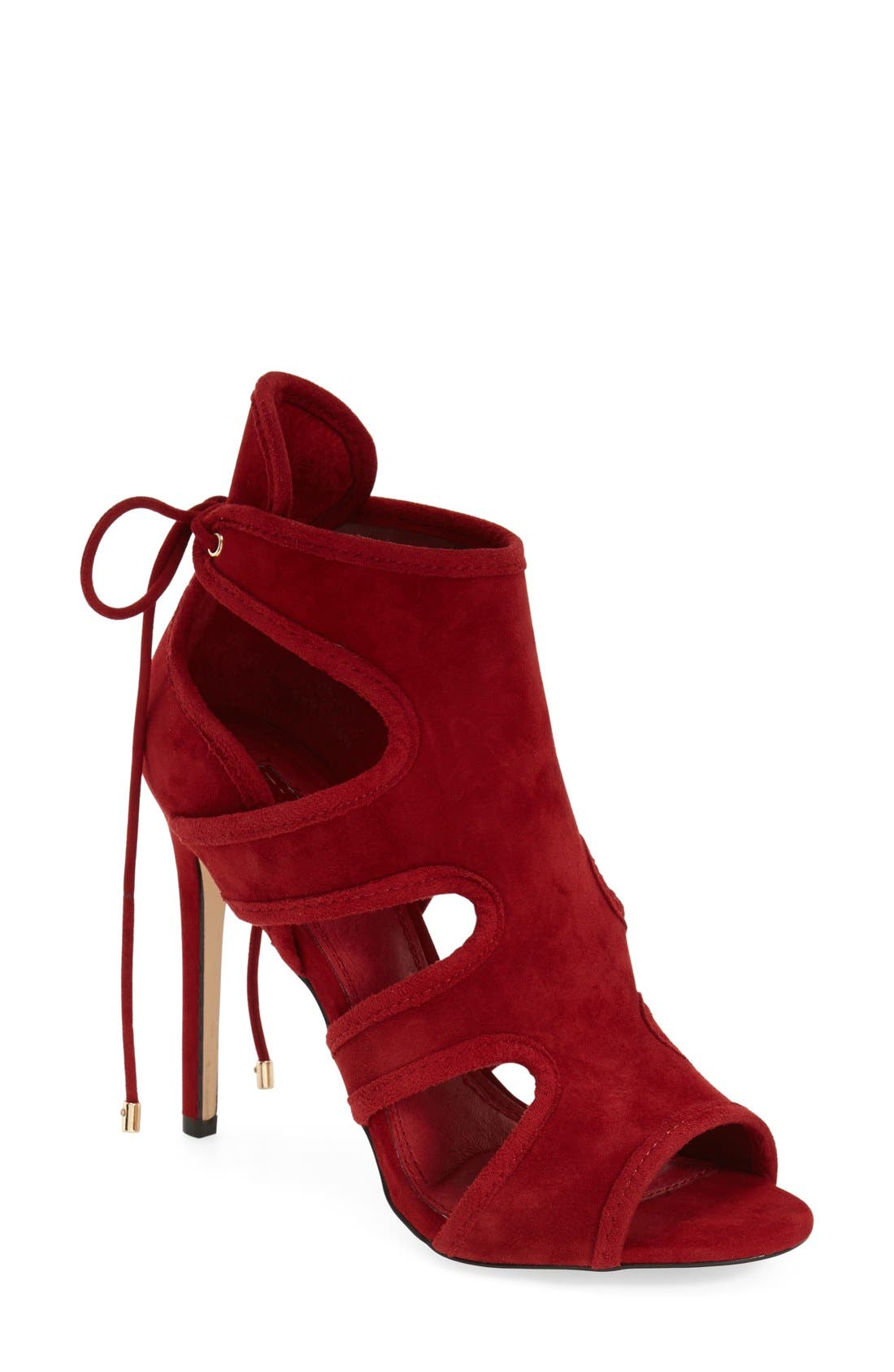 Main Image - Topshop 'Reveal' Cutaway' Sandal (Women)