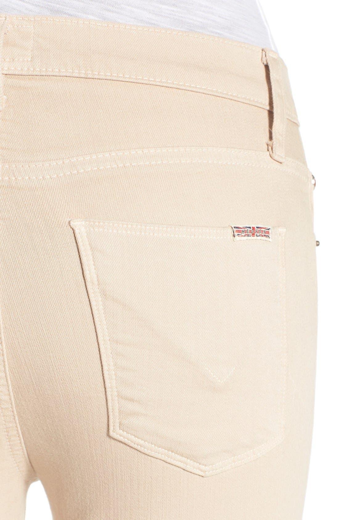 Alternate Image 4  - Hudson Jeans 'Jodi' Flare Jeans (Parachute Khaki)
