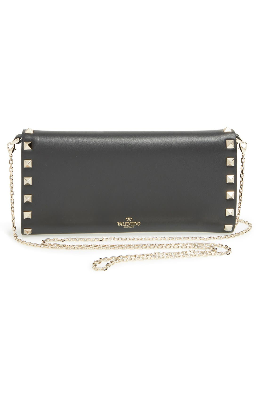 Alternate Image 4  - Valentino 'Rockstud' Wallet on a Chain