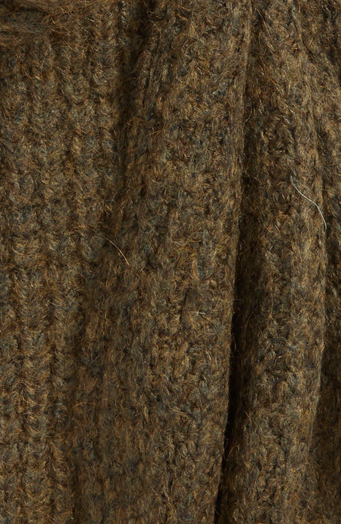 Alternate Image 3  - Maison Scotch Waffle Stitch Knit Scarf