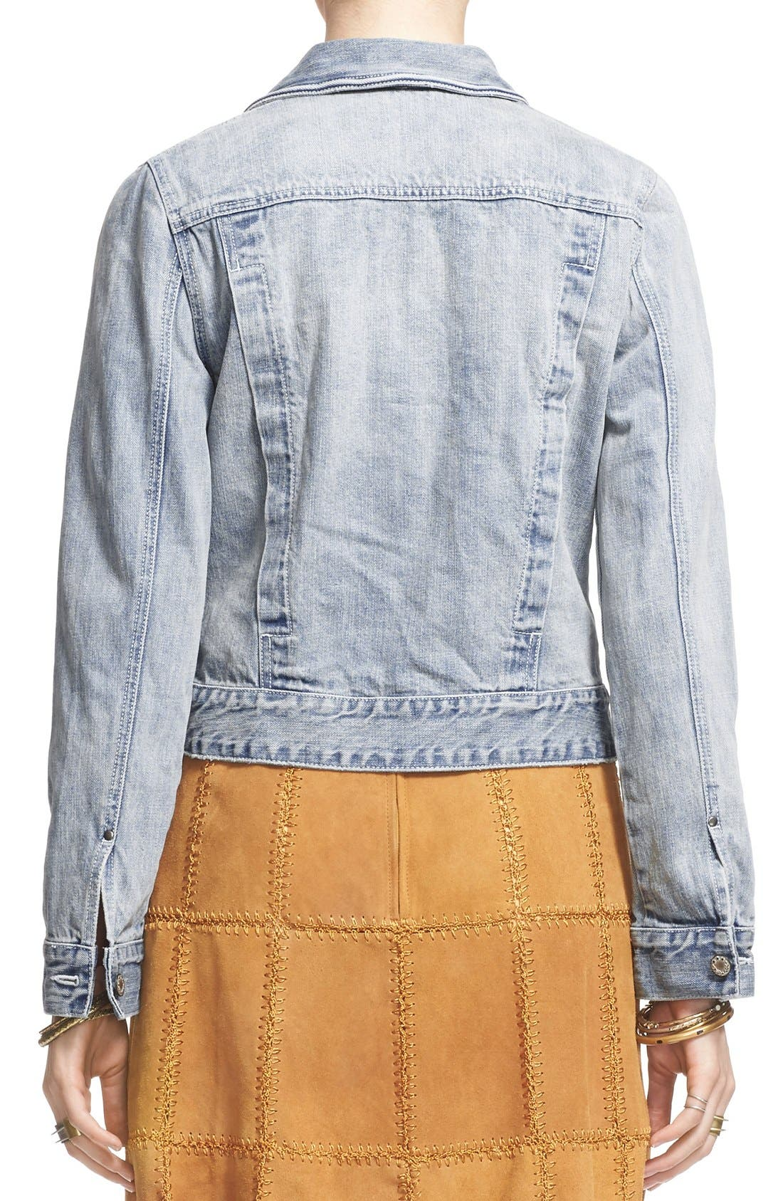 Alternate Image 3  - Free People Denim Jacket