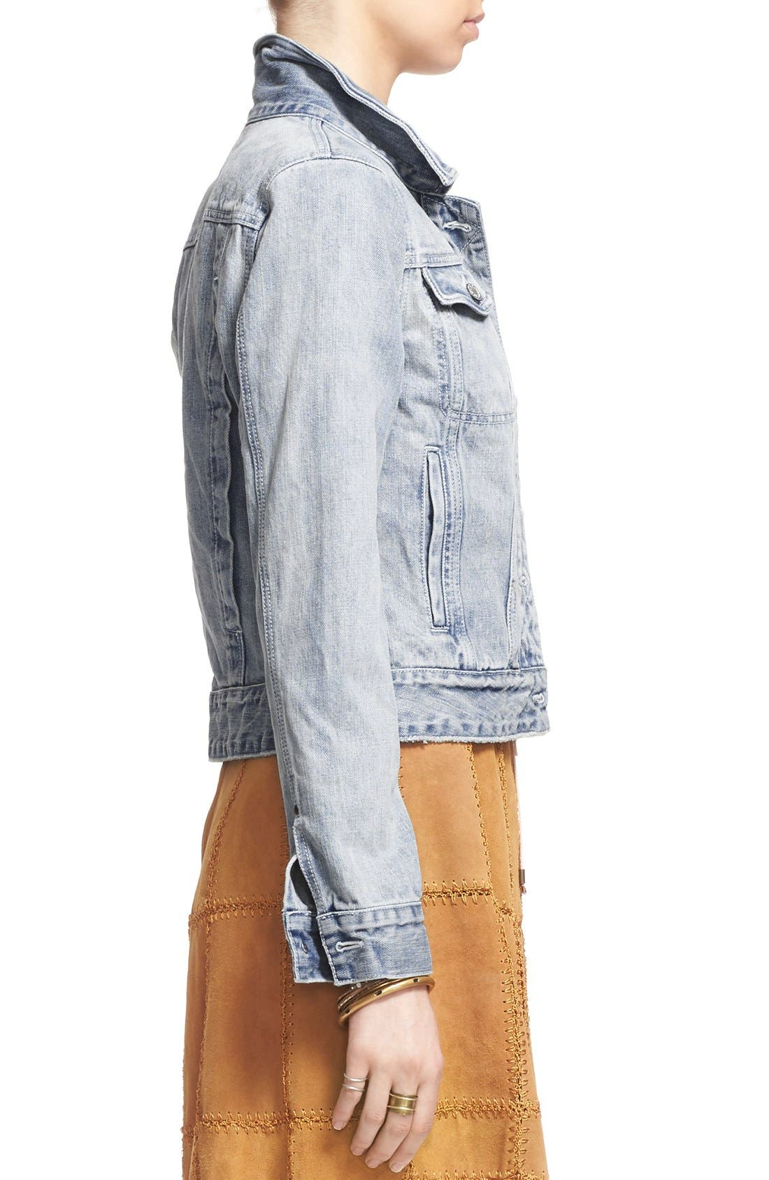 Alternate Image 4  - Free People Denim Jacket