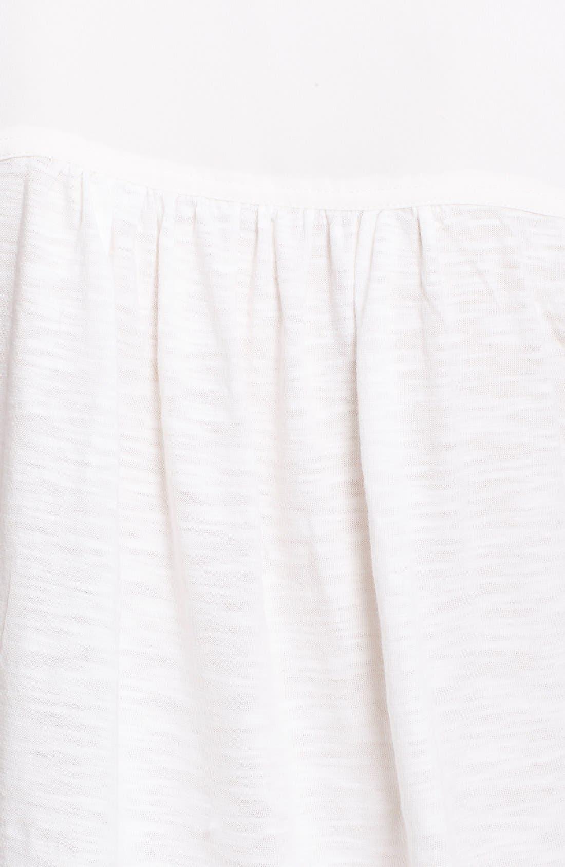 Alternate Image 5  - Soft Joie 'Trikonis' Mixed Media Silk & Cotton Top