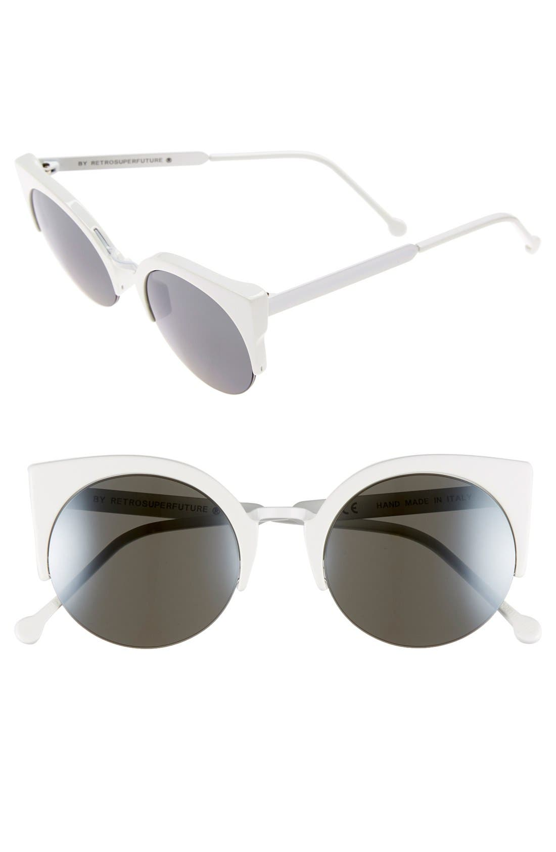 Main Image - SUPER by RETROSUPERFUTURE® 'Lucia Francis' 51mm Sunglasses
