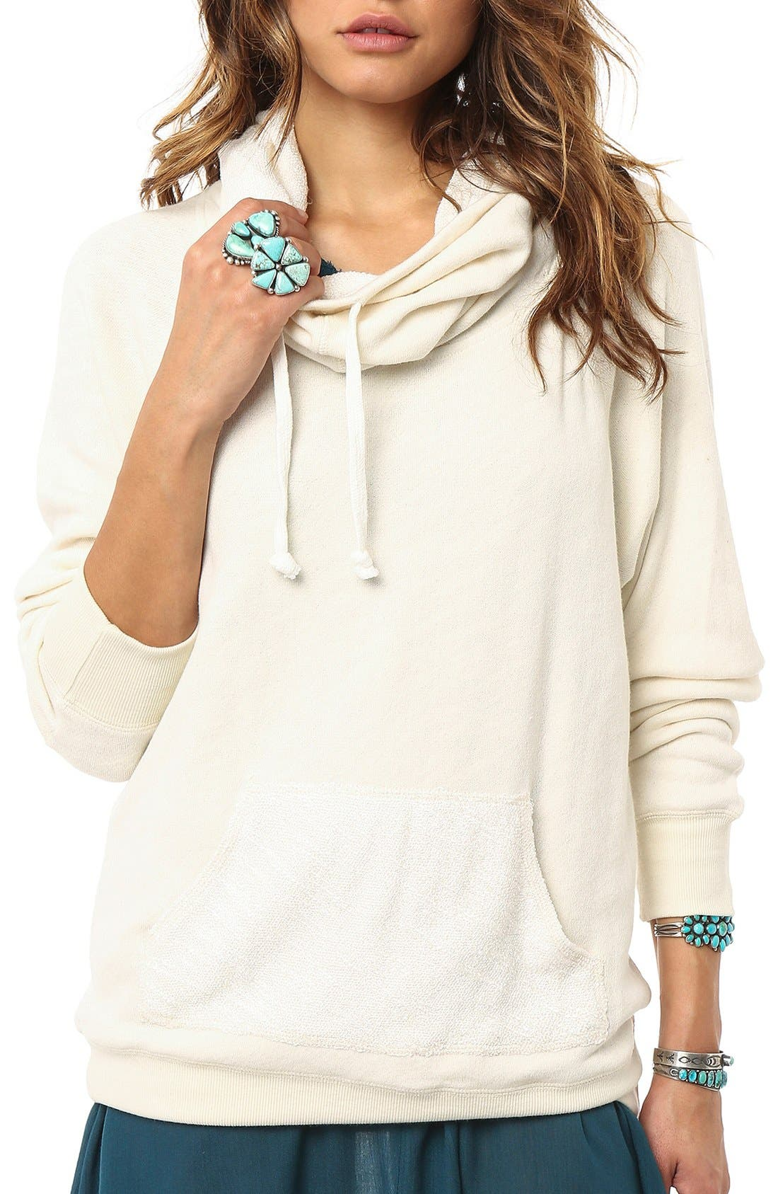 Alternate Image 1 Selected - O'Neill 'Northern' Cowl Neck Hoodie