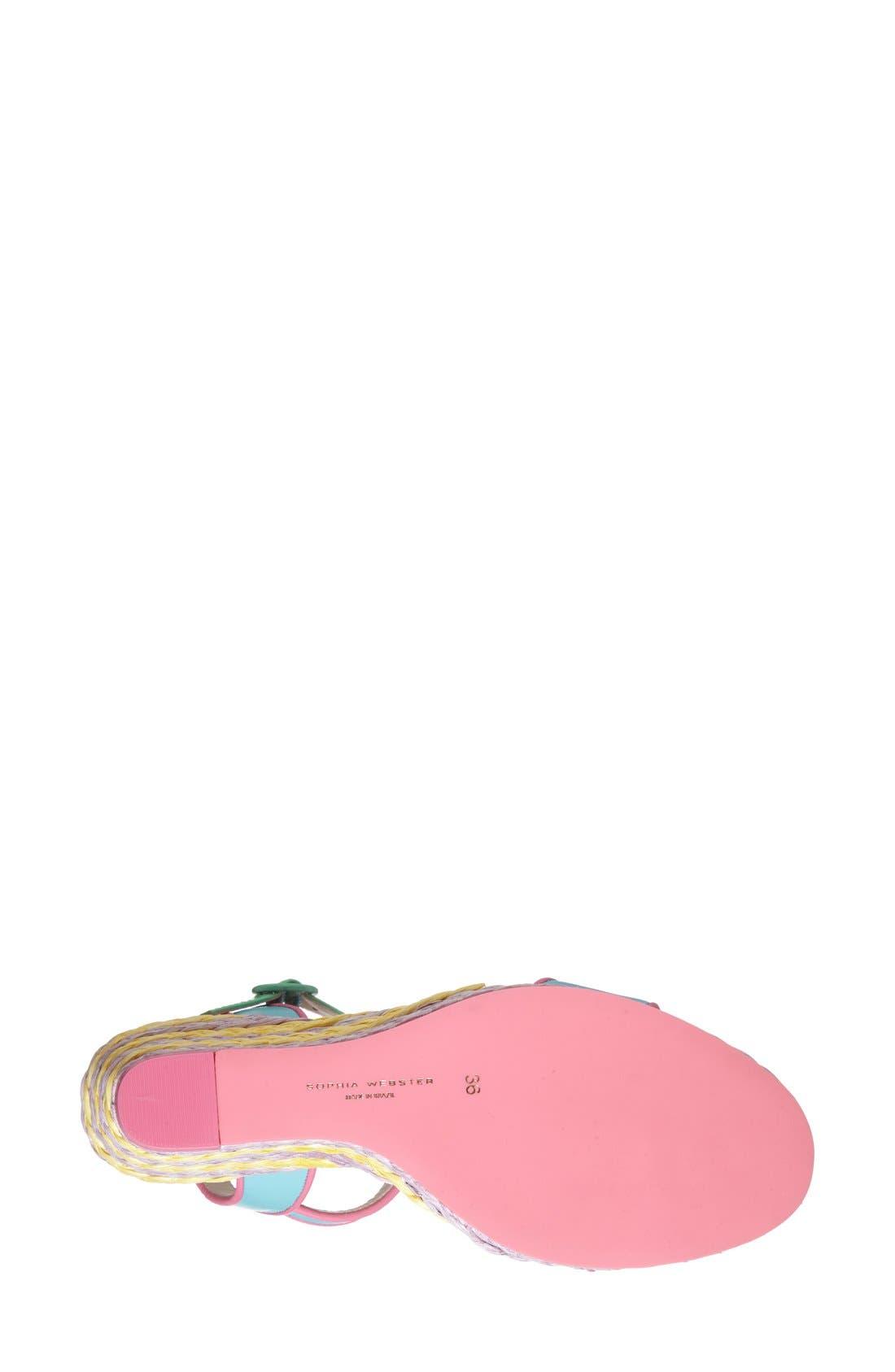 Alternate Image 4  - Sophia Webster 'Lucita' Wedge Sandal (Women)