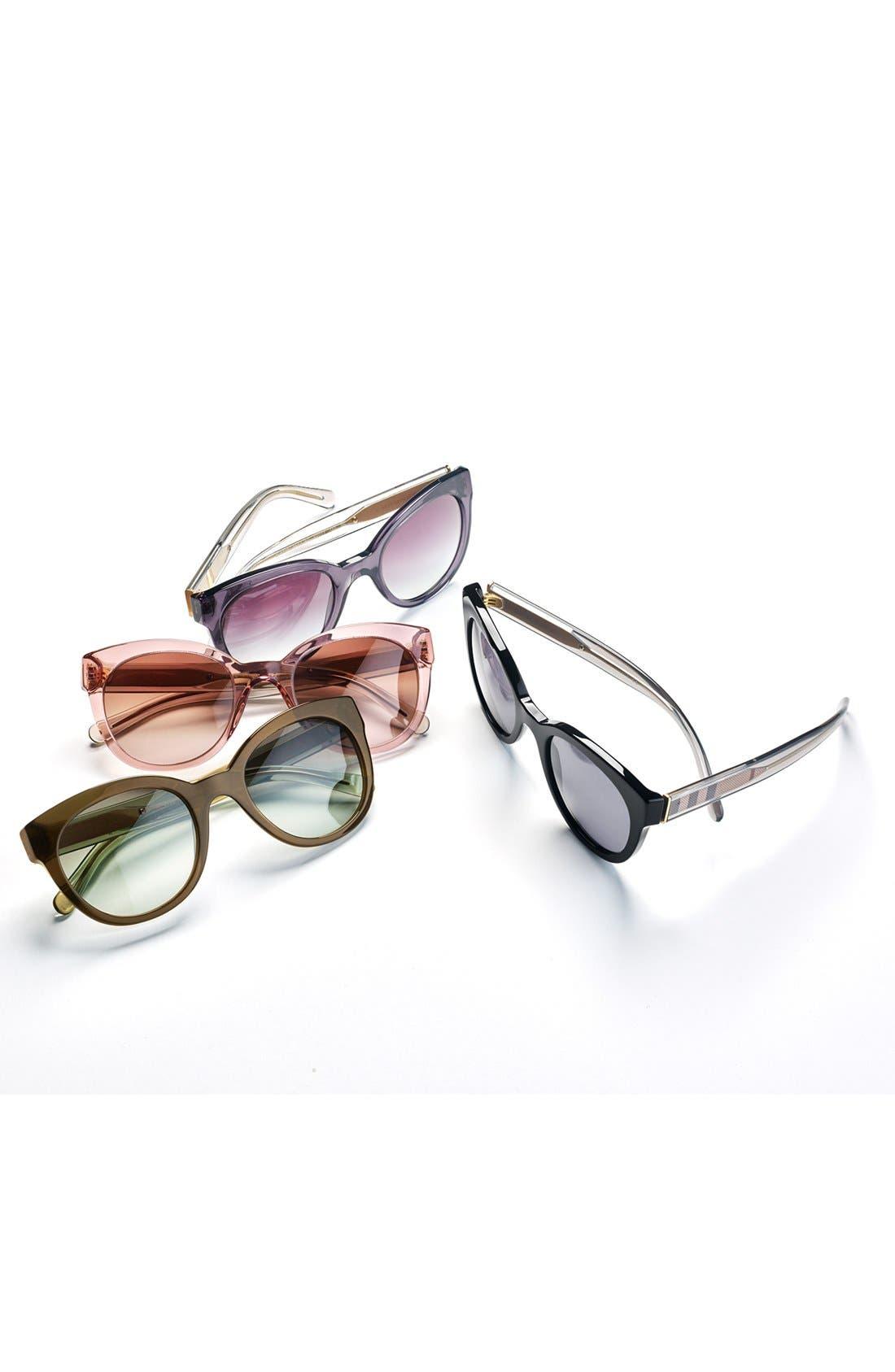 Alternate Image 3  - Burberry 52mm Retro Sunglasses