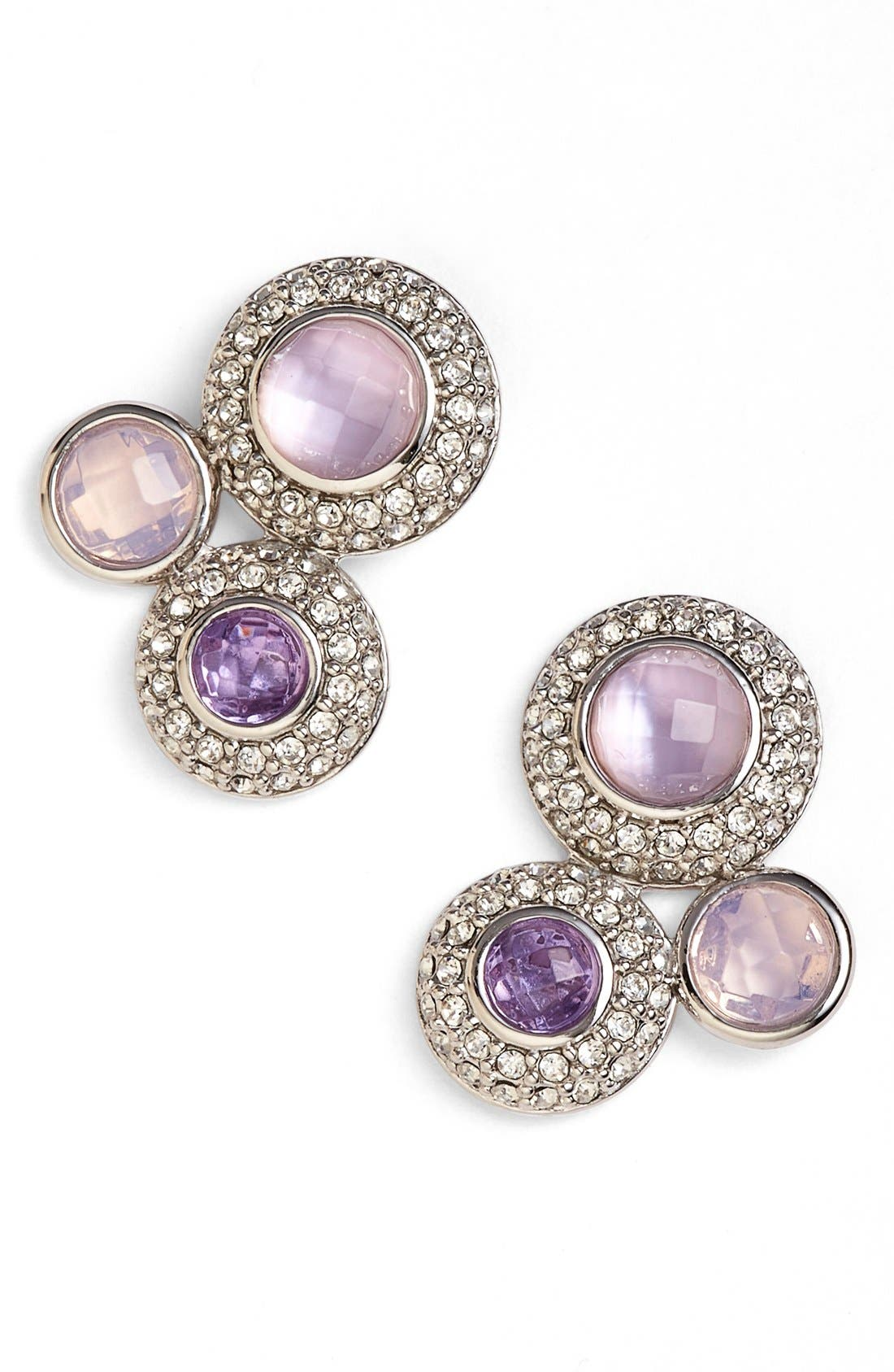 Main Image - Judith Jack Jeweled Cluster Stud Earrings