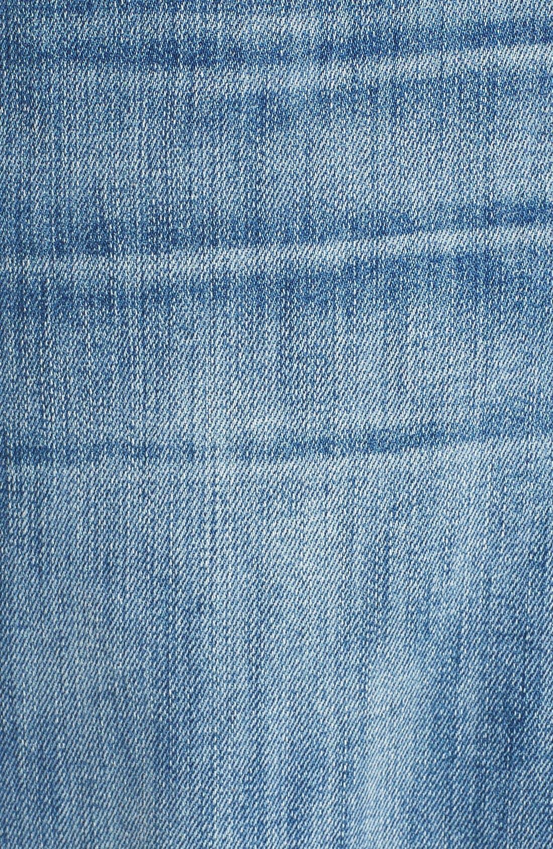 Alternate Image 5  - 7 For All Mankind® Austyn Relaxed Straight Leg Jeans (Nakkitta Blue)