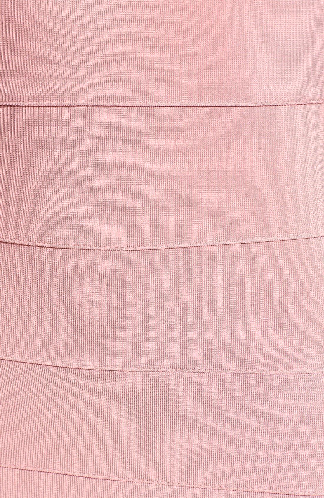 Alternate Image 5  - Missguided Geo Cutout Bandage Dress