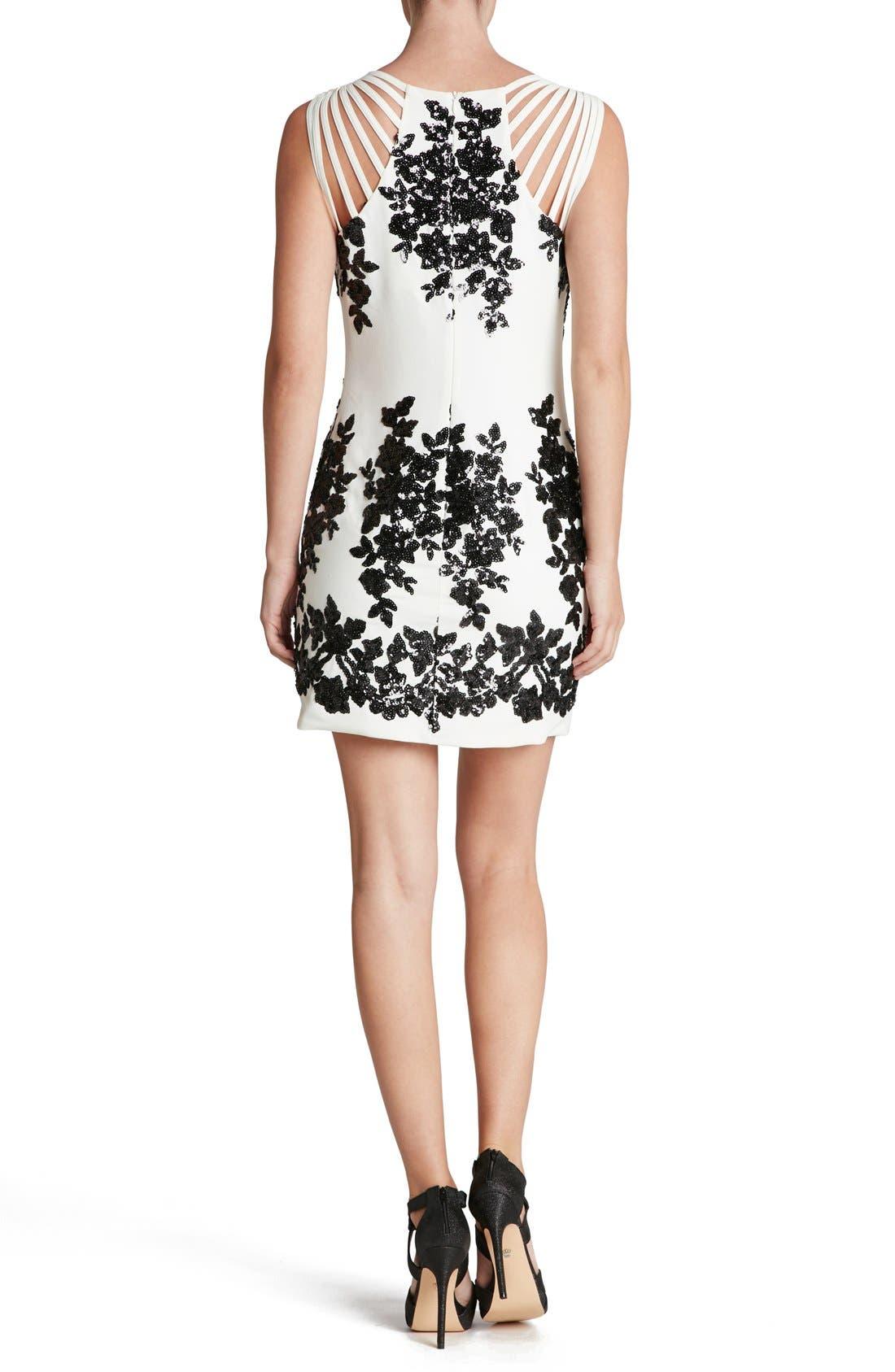 Alternate Image 2  - Dress the Population 'Cora' Sequin Minidress