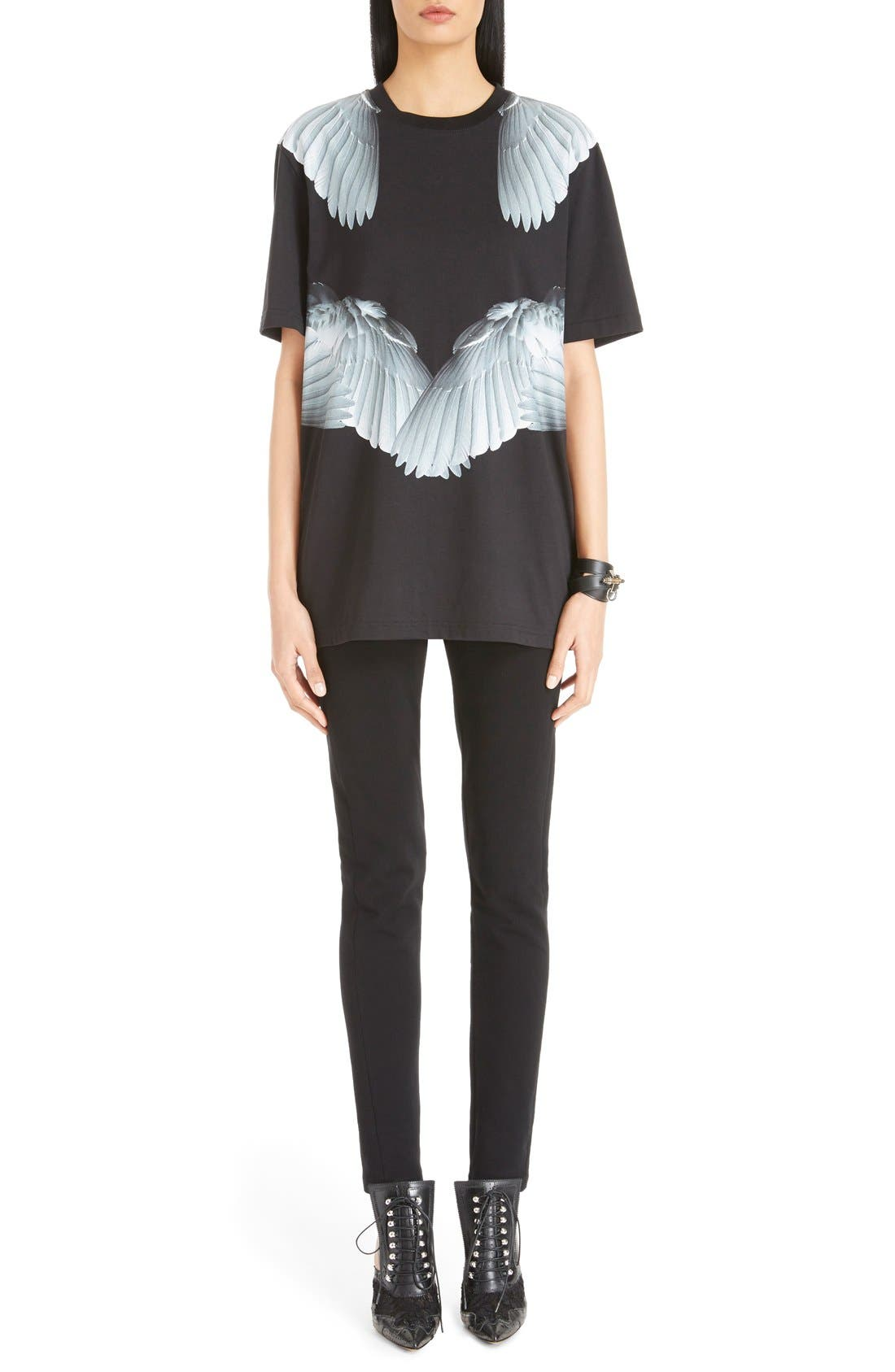 Alternate Image 1 Selected - Givenchy 'Wing' Cotton Tee