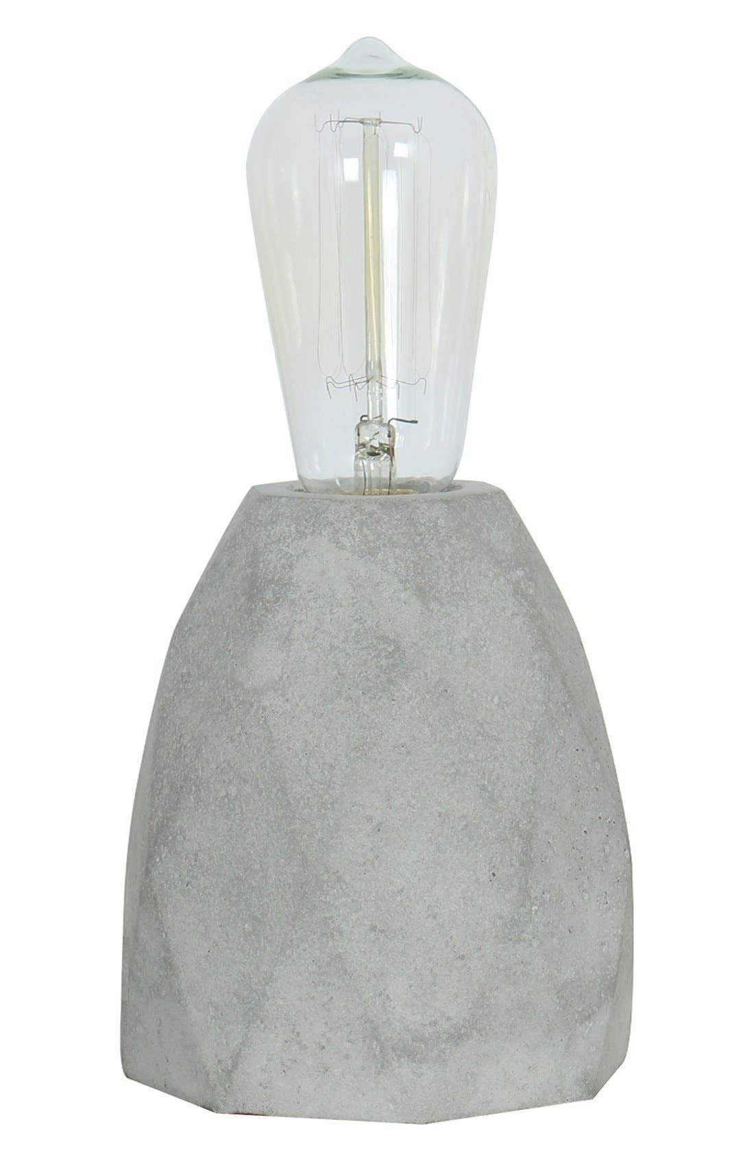 Main Image - Crystal Art Gallery Cement Table Lamp